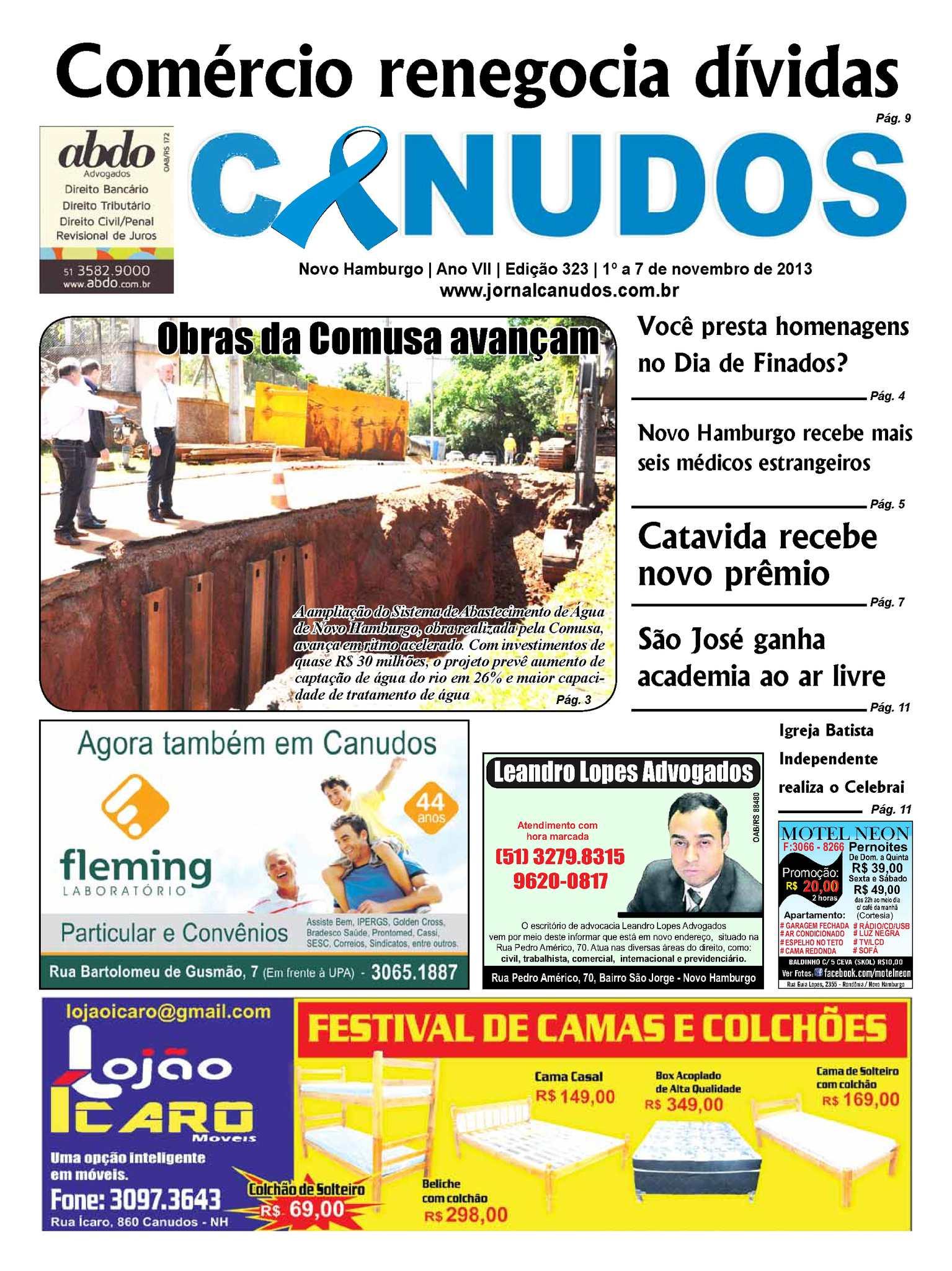 2f1060e4b6 Calaméo - Jornal Canudos - Edição 323