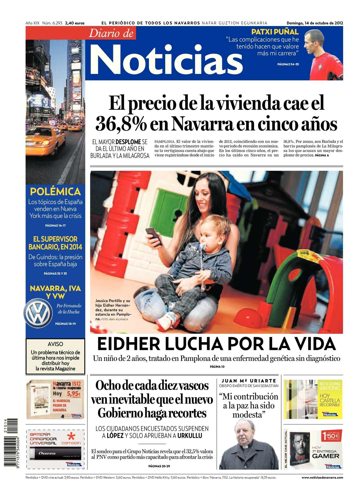 quality design 046d8 c44d2 Calaméo - Diario de Noticias 20121014