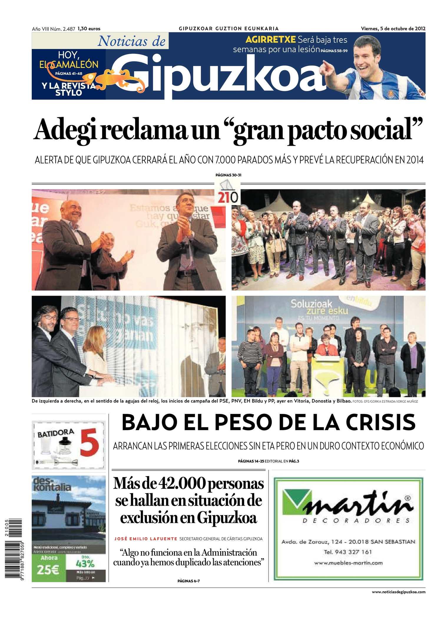 Gipuzkoa Noticias Calaméo 20121005 20121005 Noticias Gipuzkoa Noticias Calaméo de Calaméo de 08nOvmNwy