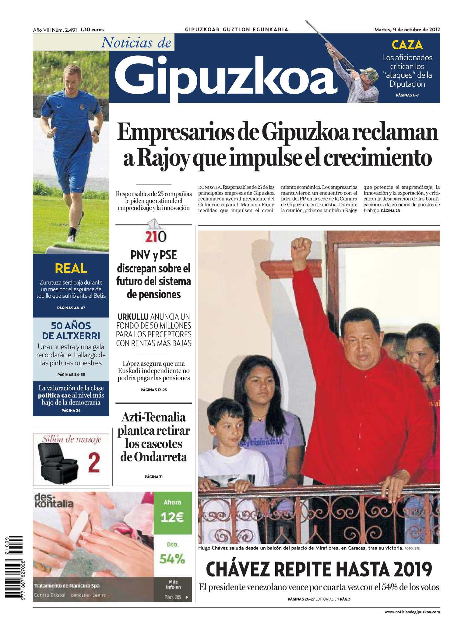 66f12b5f87 Calaméo - Noticias de Gipuzkoa 20121009