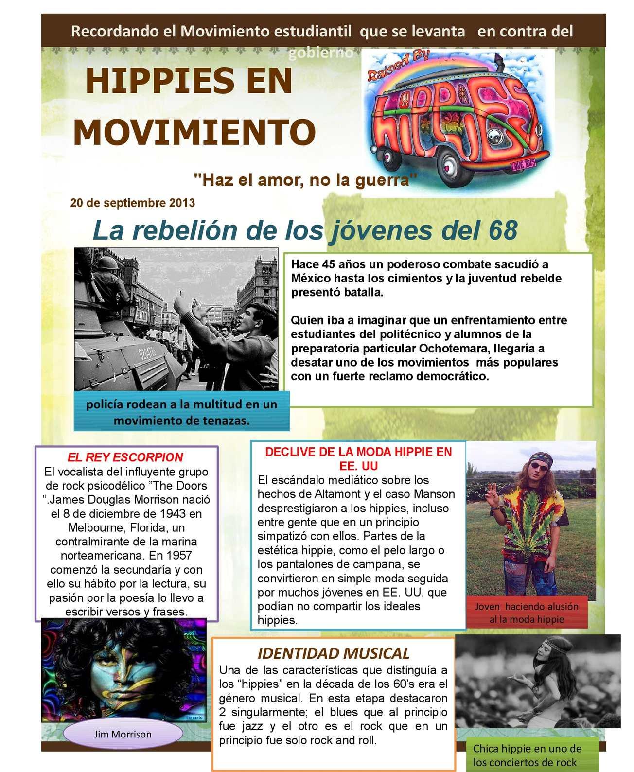 Calaméo Hippies En Movimiento