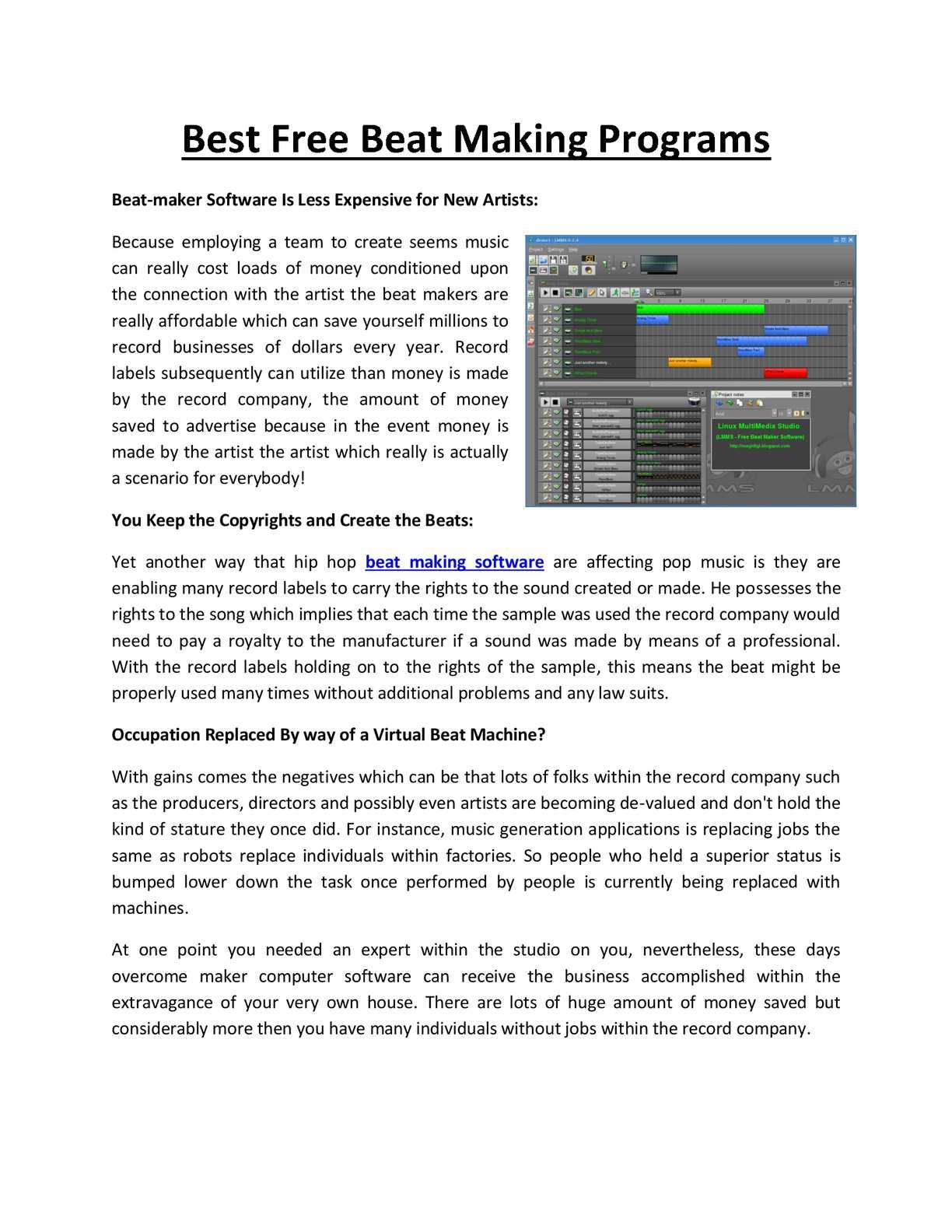 Calaméo - Best Beat Maker Software