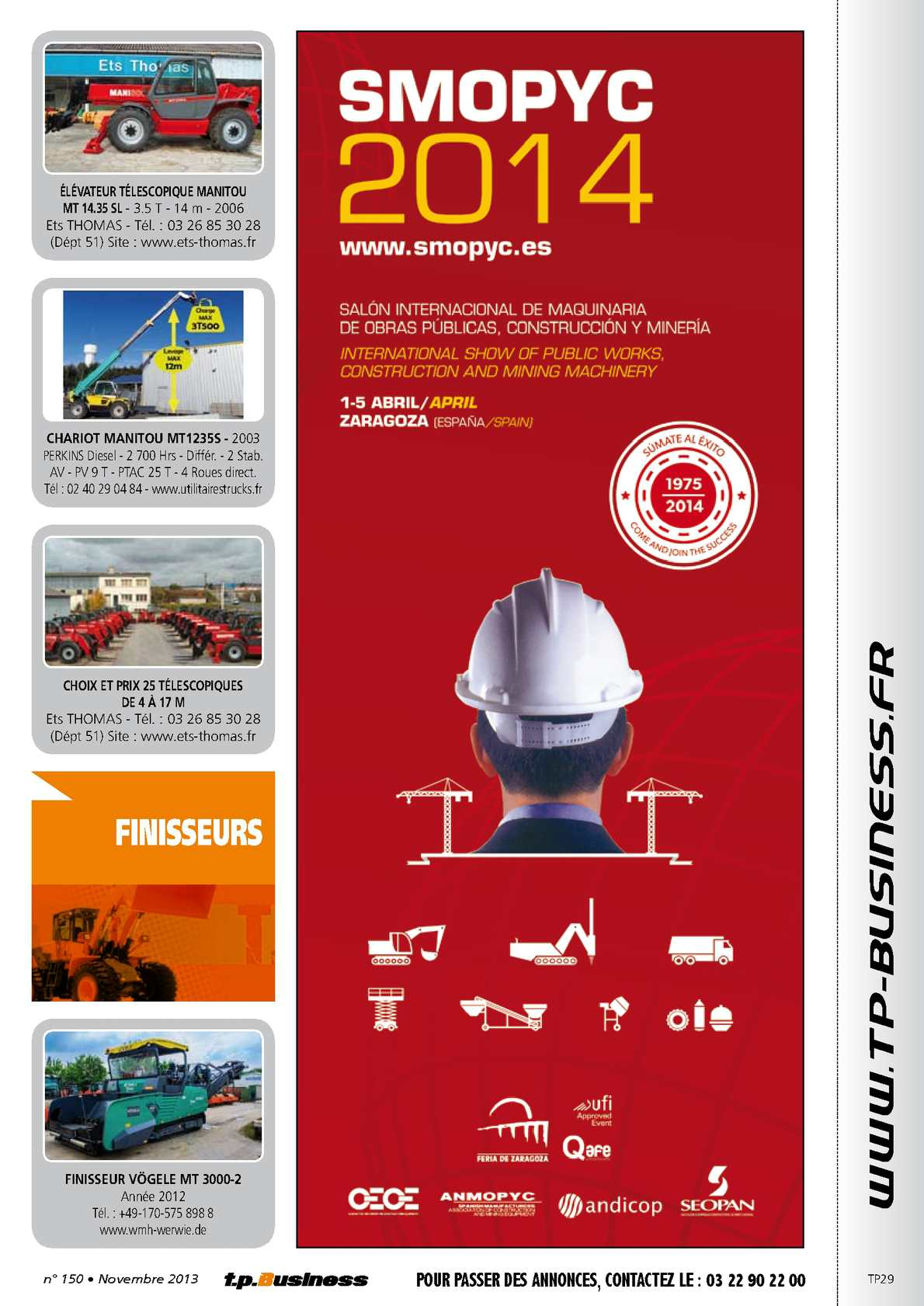 Www Ets Thomas Fr tp business n°150 - novembre 2013 - calameo downloader