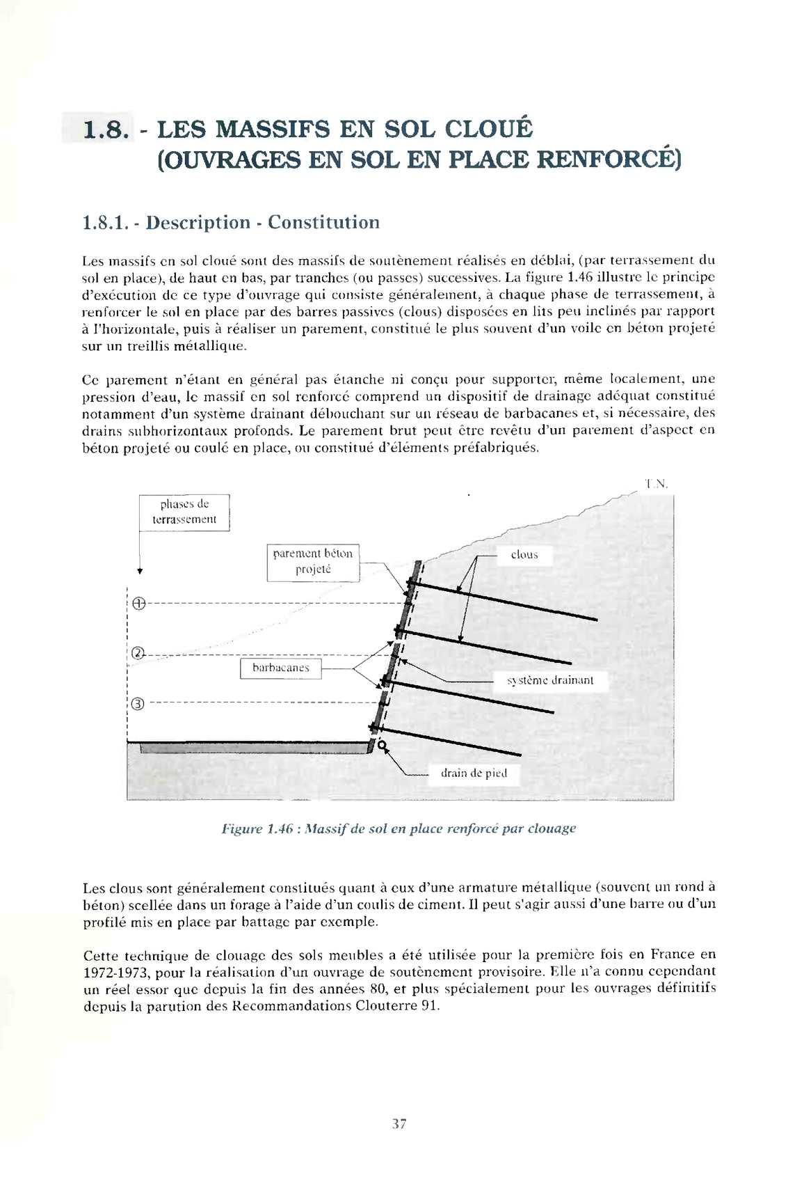 RECOMMANDATIONS 1991 TÉLÉCHARGER CLOUTERRE