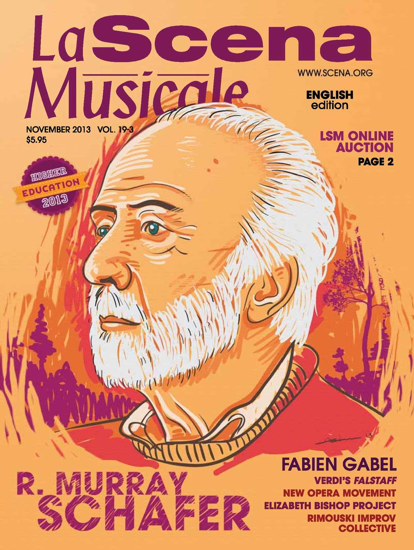 foto de Calaméo - La Scena Musicale November 2013