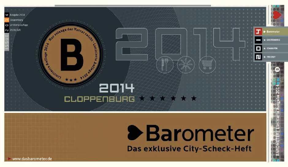 Barometer Calaméo 2014 Ausgabe Cloppenburg doBrCxe