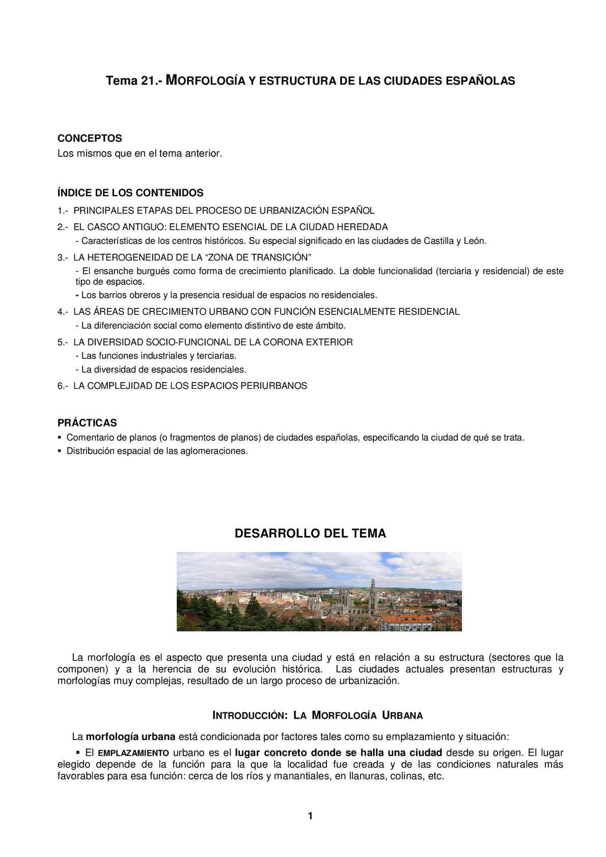 Calaméo Morfología Y Estructura De La Ciudad