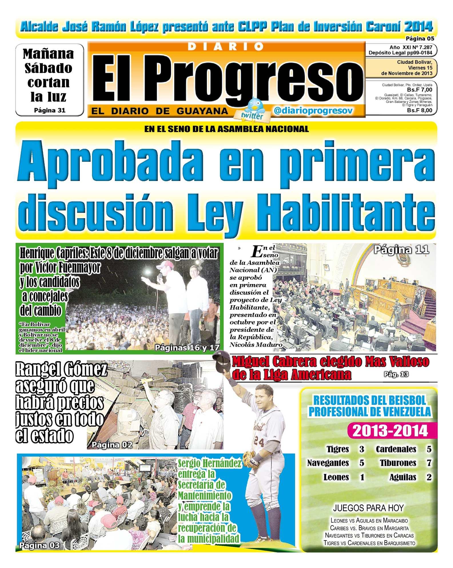 Calaméo Diario El Progreso Edición Digital 15 11 2013