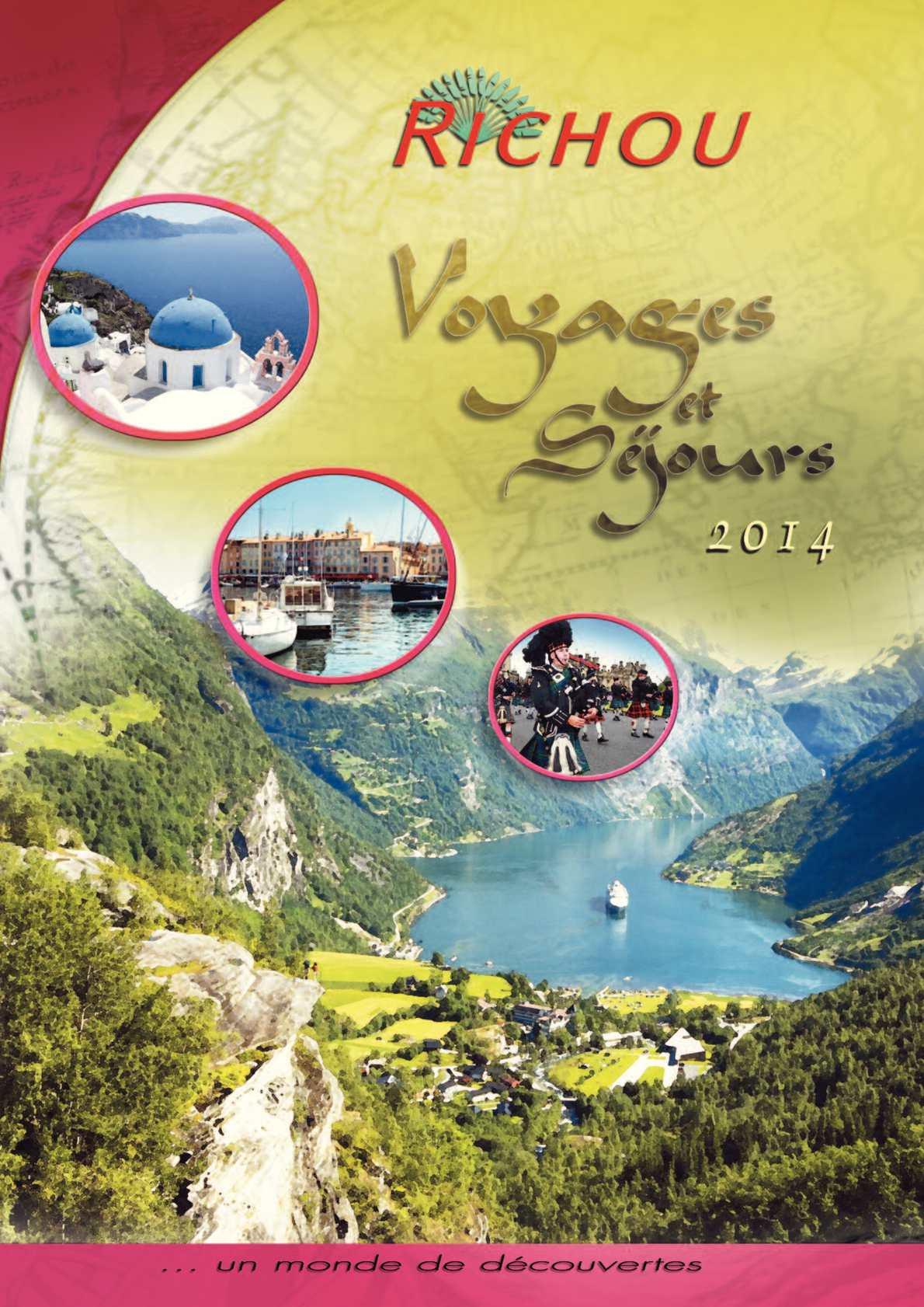 Calameo Voyages Et Sejours 2014