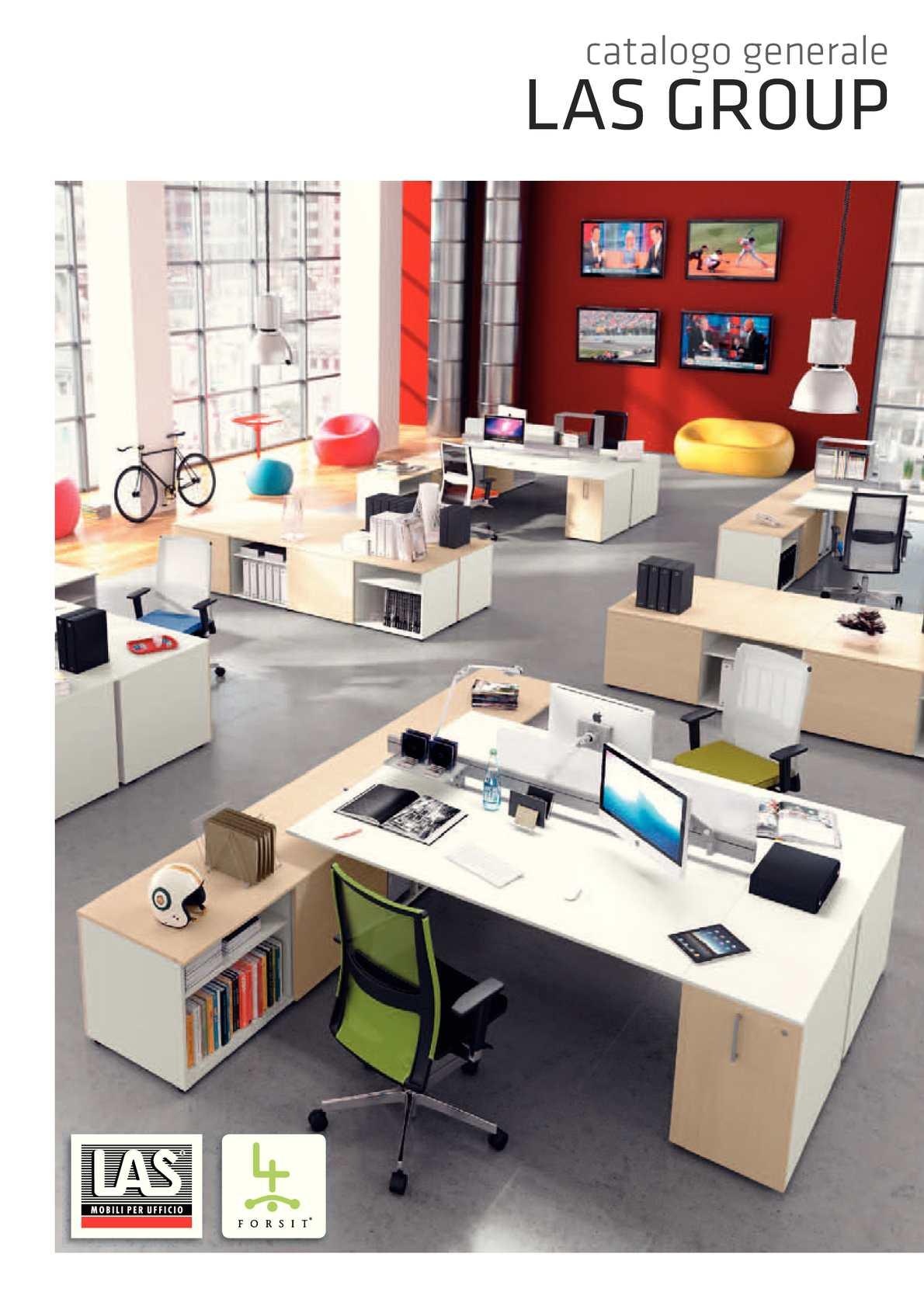 Las Arredo Ufficio Catalogo.Calameo Nomesis Las Mobili General Catalog