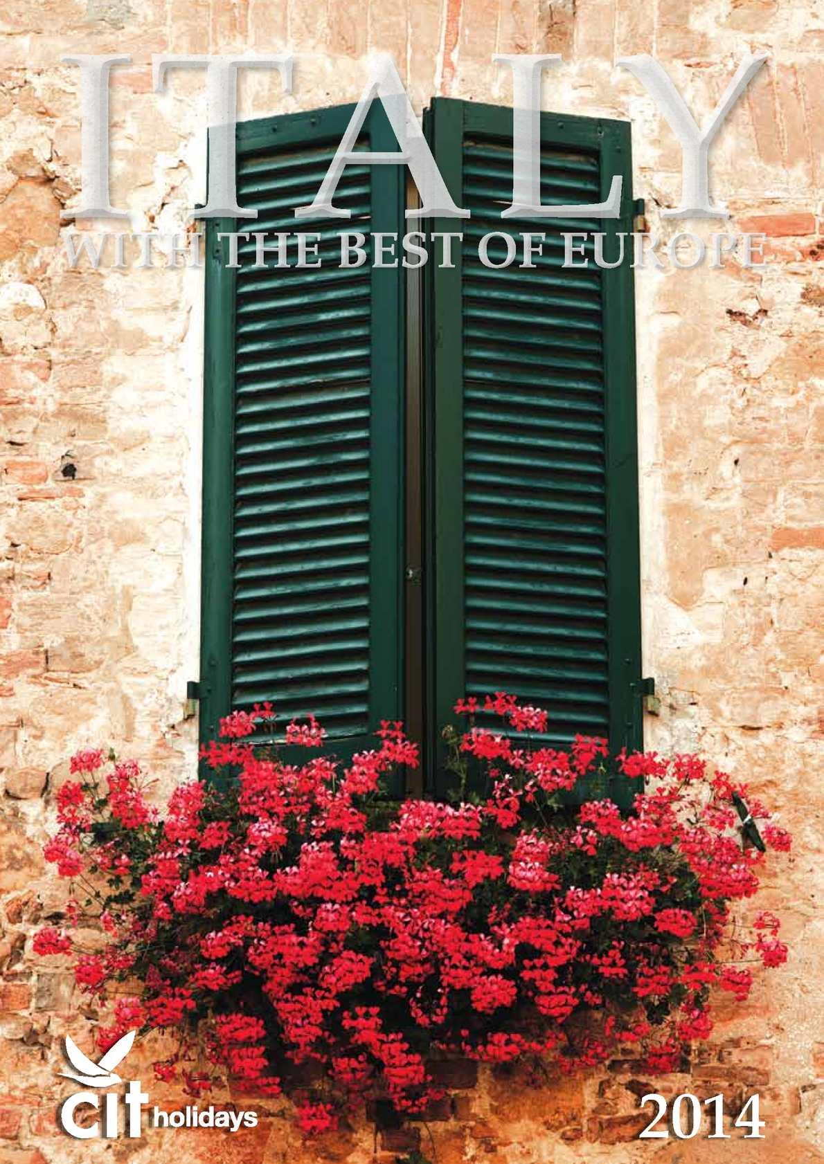 8680ae024 Calaméo - CIT Italy and Europe Holidays 2014
