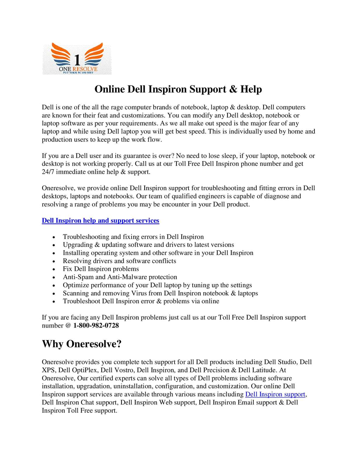 Calaméo - Online Dell Inspiron Support & Help
