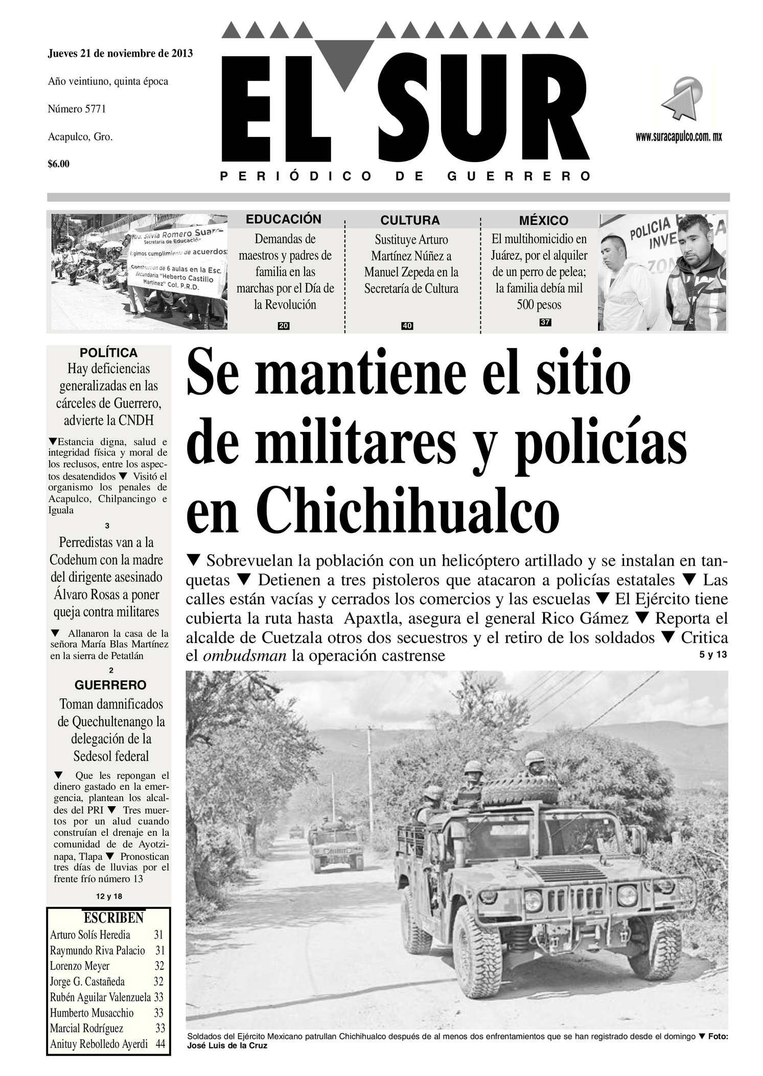 Calaméo - El Sur Jueves 21112013.pdf 3428867f387