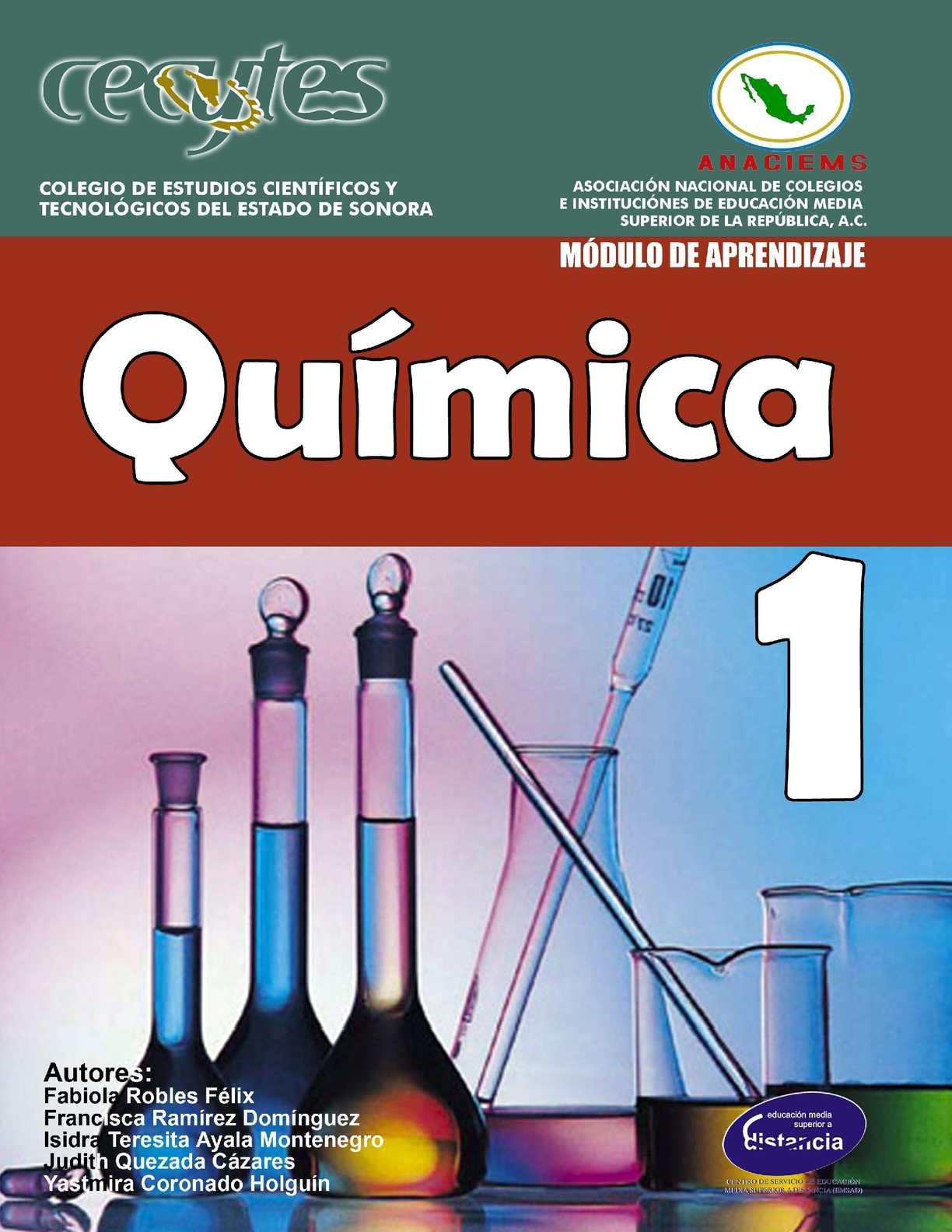 Calaméo Libro De Quimica I