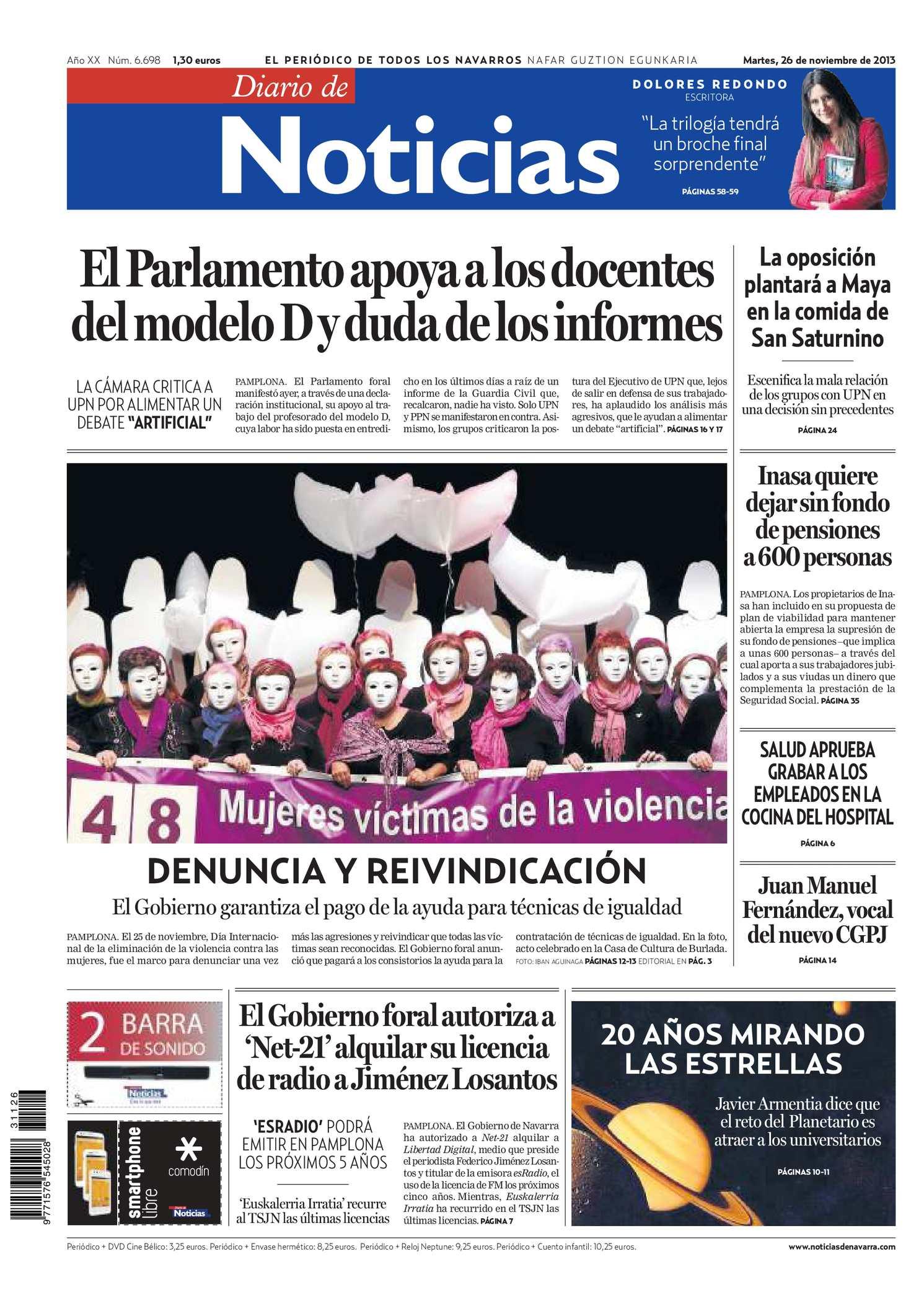 Calameo Diario De Noticias 20131126