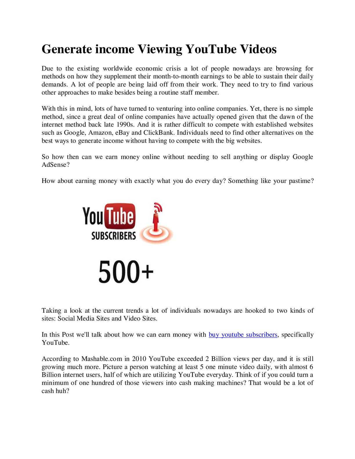 Calaméo - buy youtube subscribers