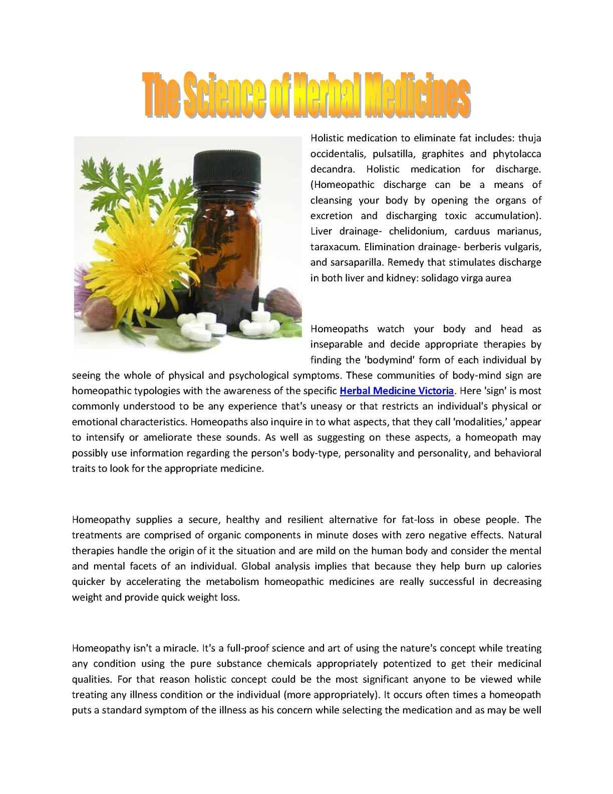 Calaméo - Homeopathy Victoria