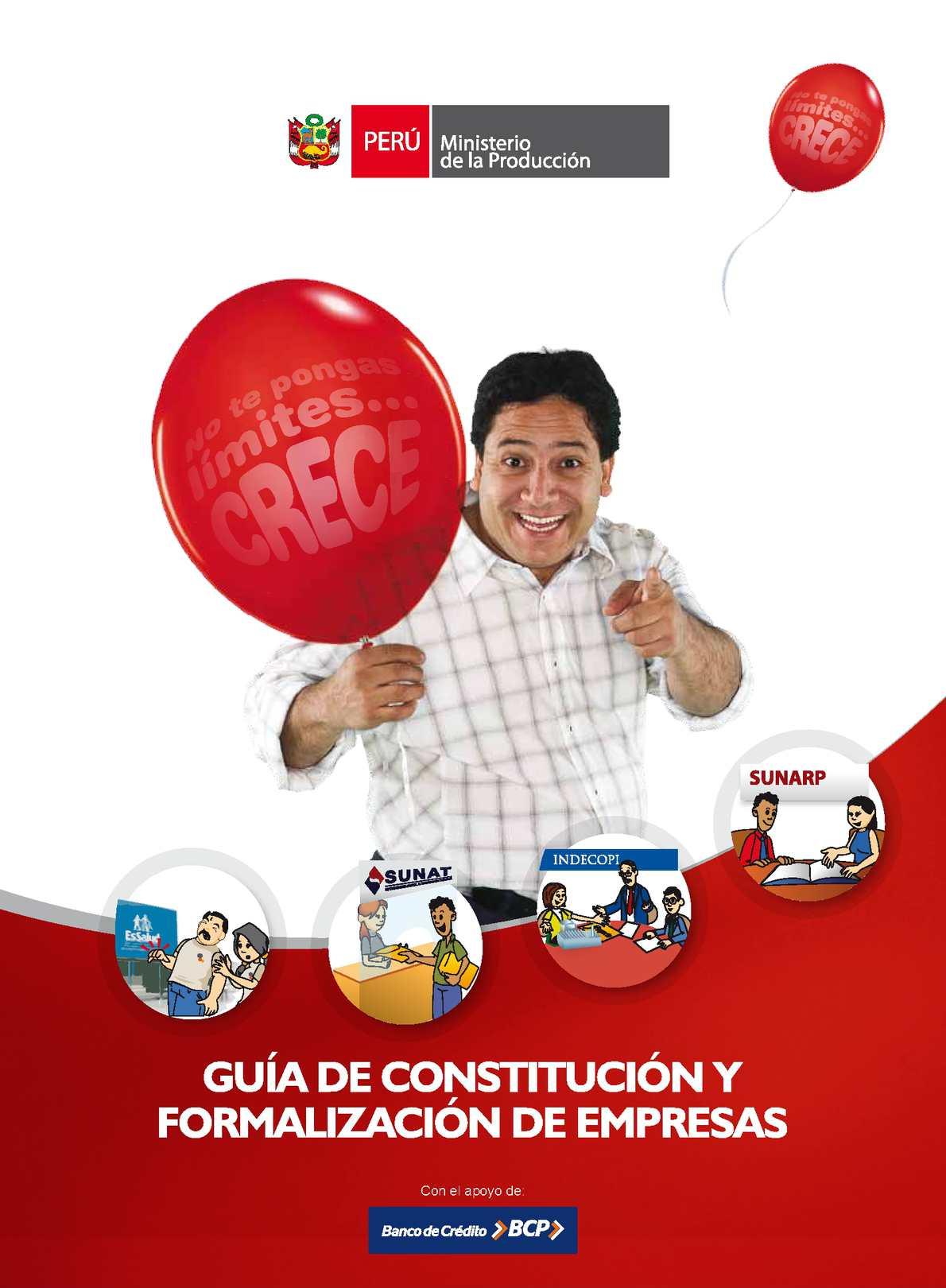 Calaméo - CONSTITUCION DE EMPRESA PERÚ 40e4cf2a211