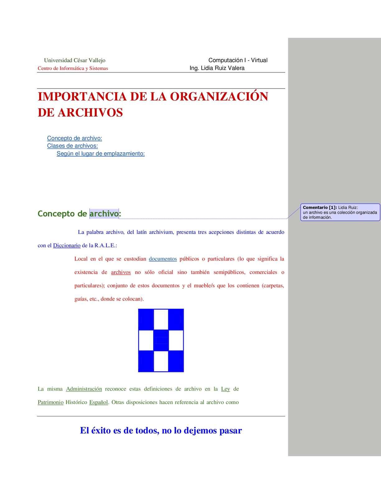 Calaméo Organización De Archivos