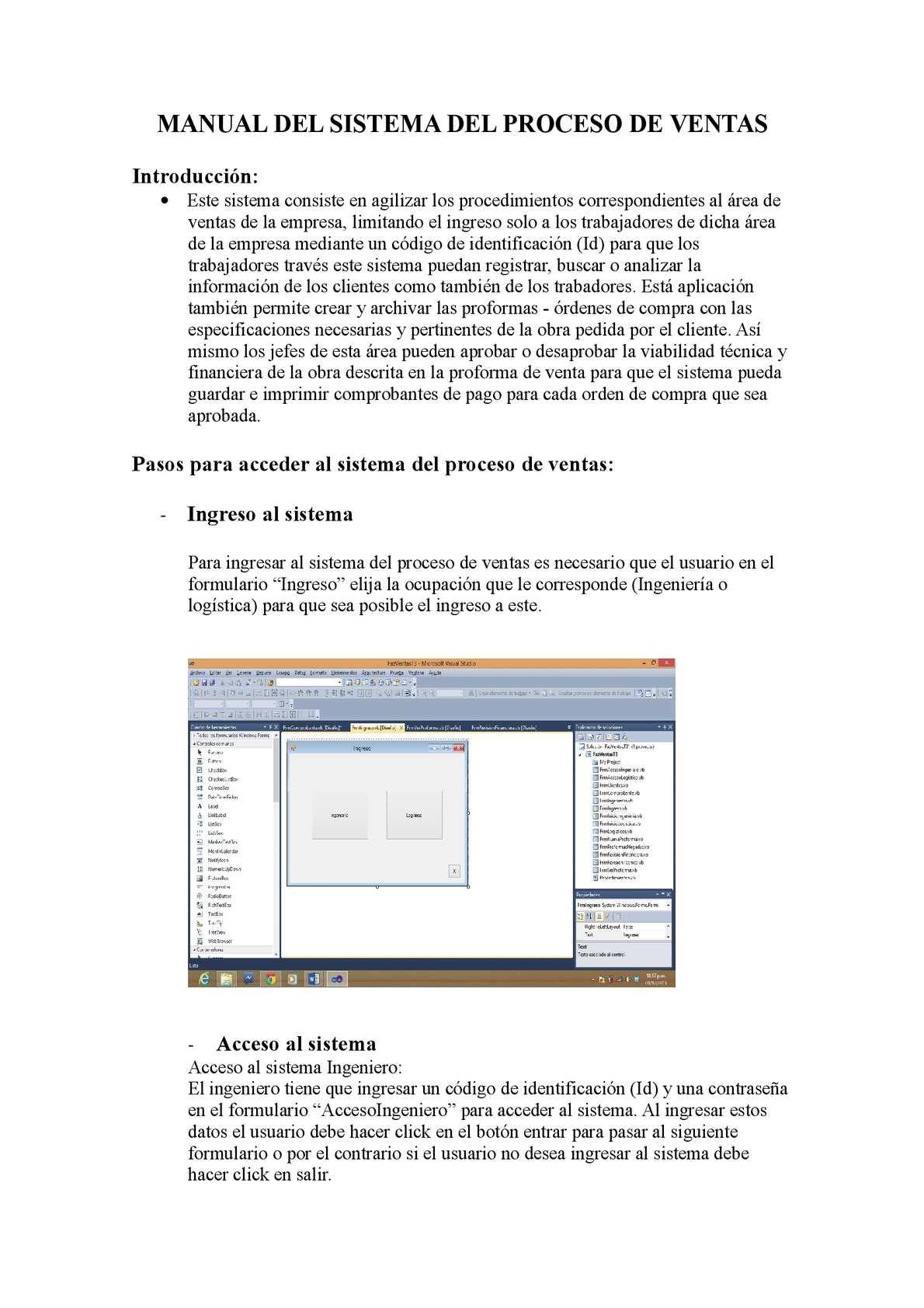 Calaméo Manual Del Sistema Del Proceso De Ventas