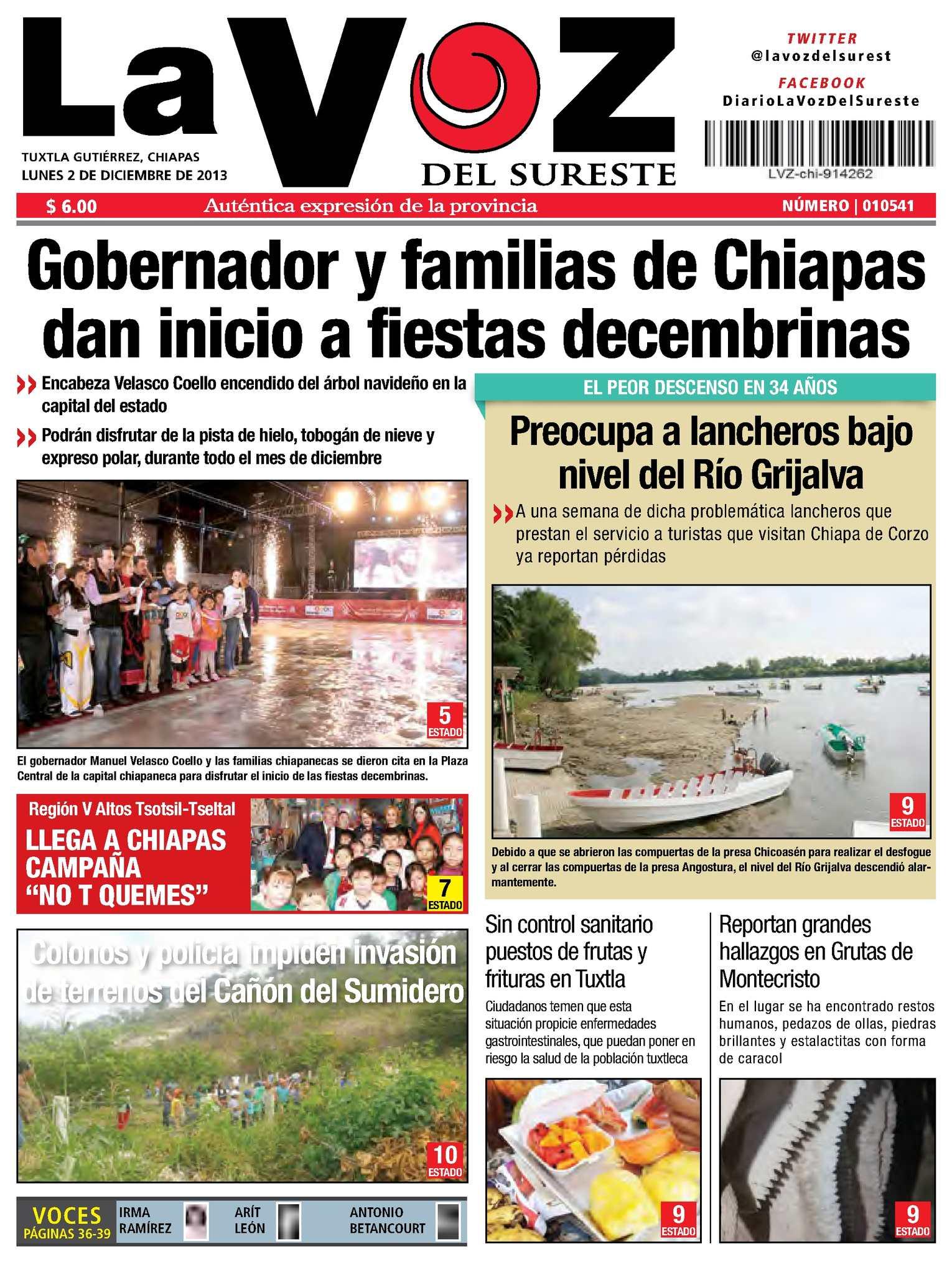 Del La Diario Sureste Calaméo Voz PkXZOiu