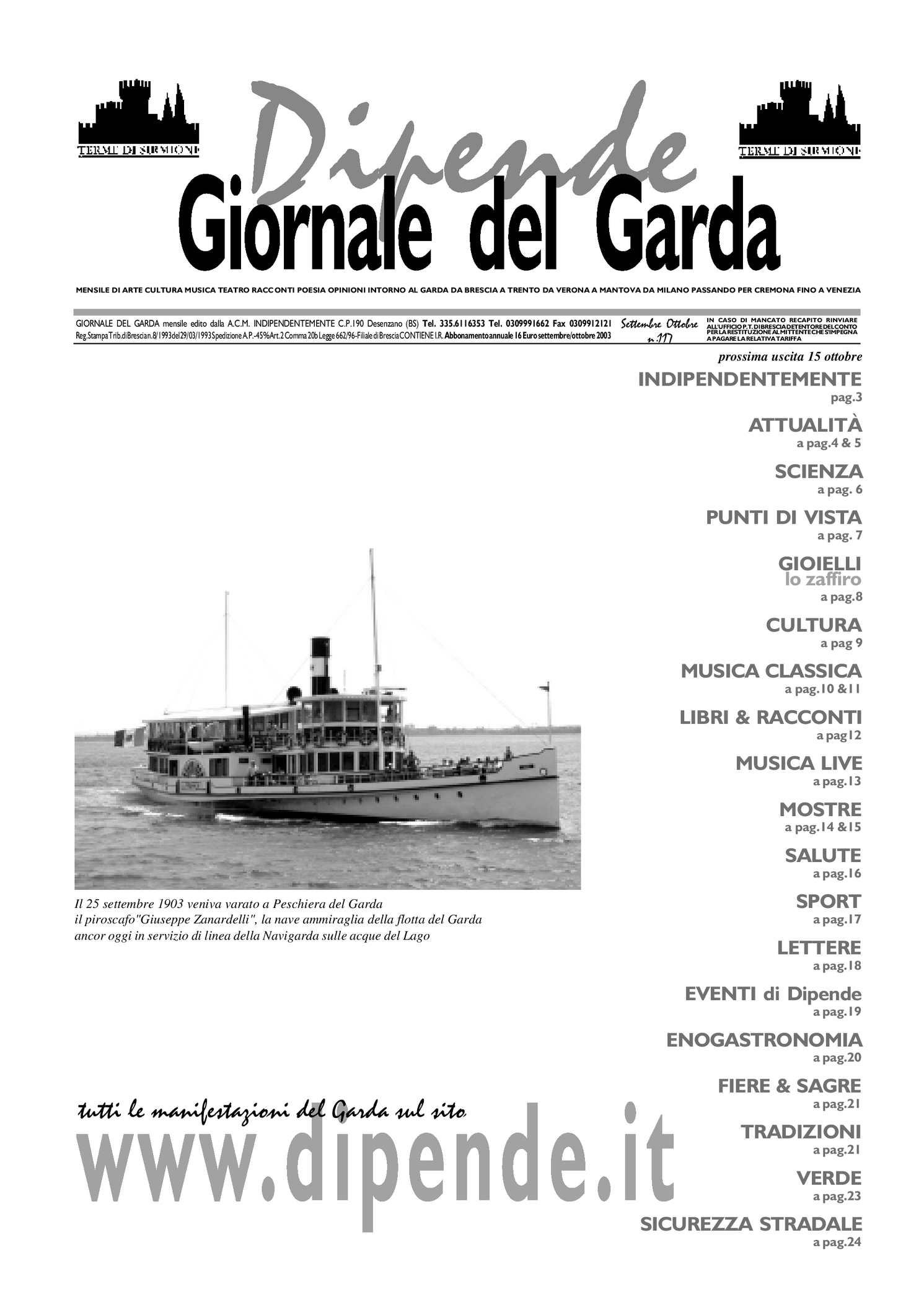 Vivaio Peschiera Del Garda calaméo - giornale del garda n.117