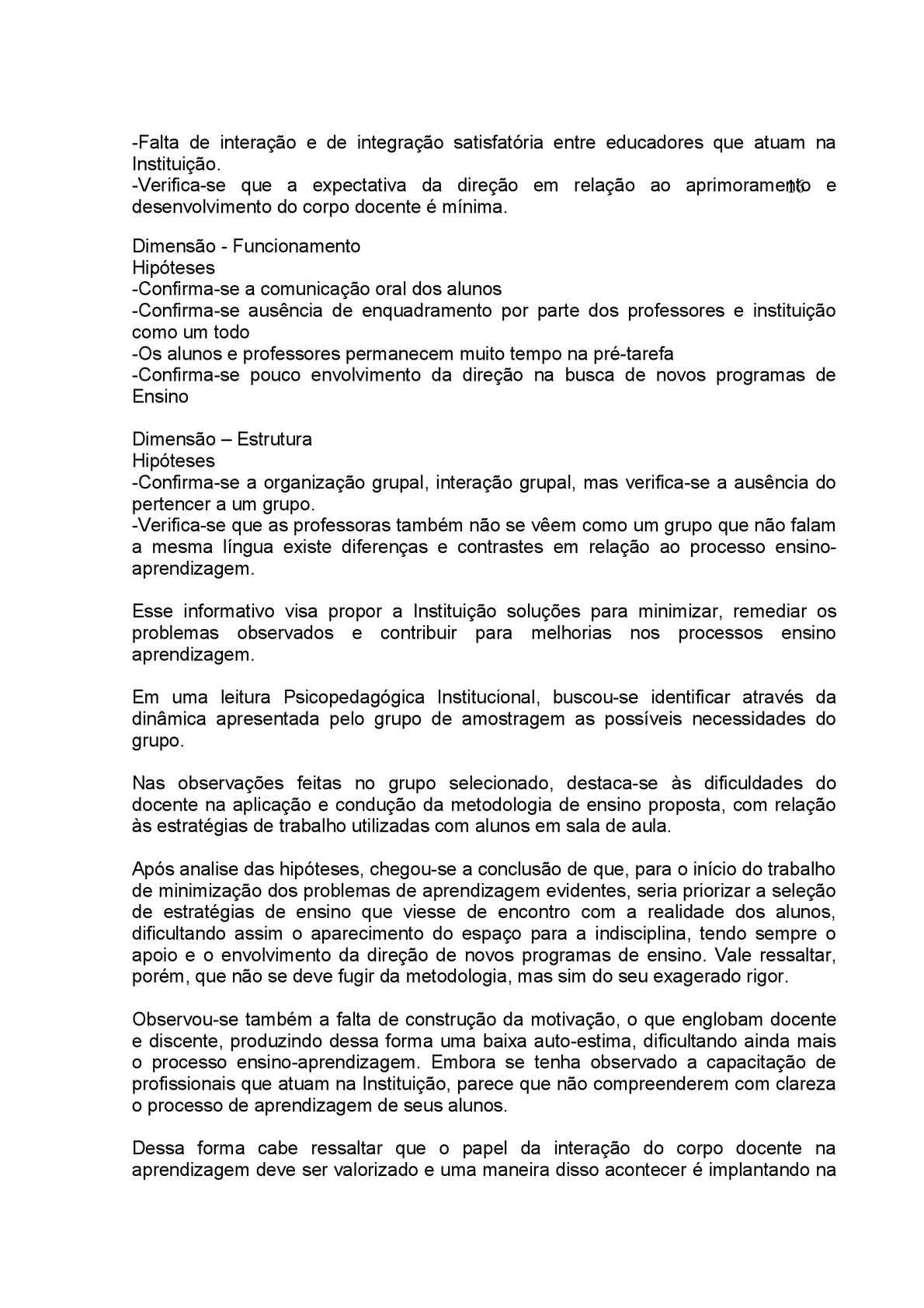 Relatorio De Estagio Institucional Calameo Downloader