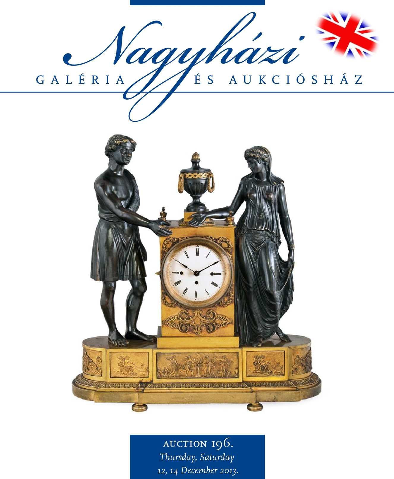 Nagyházi Galéria és Aukciósház – Auction 196.