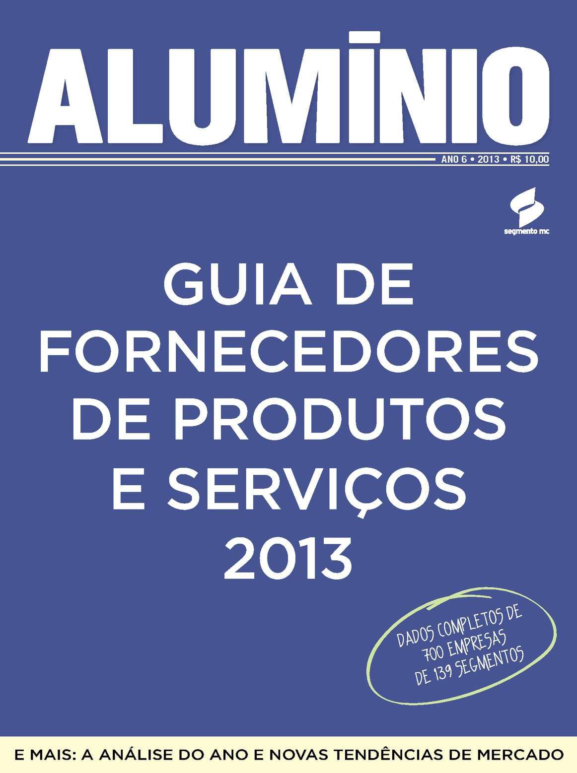 6ec3032184850 Calaméo - Guia Alumínio 2013