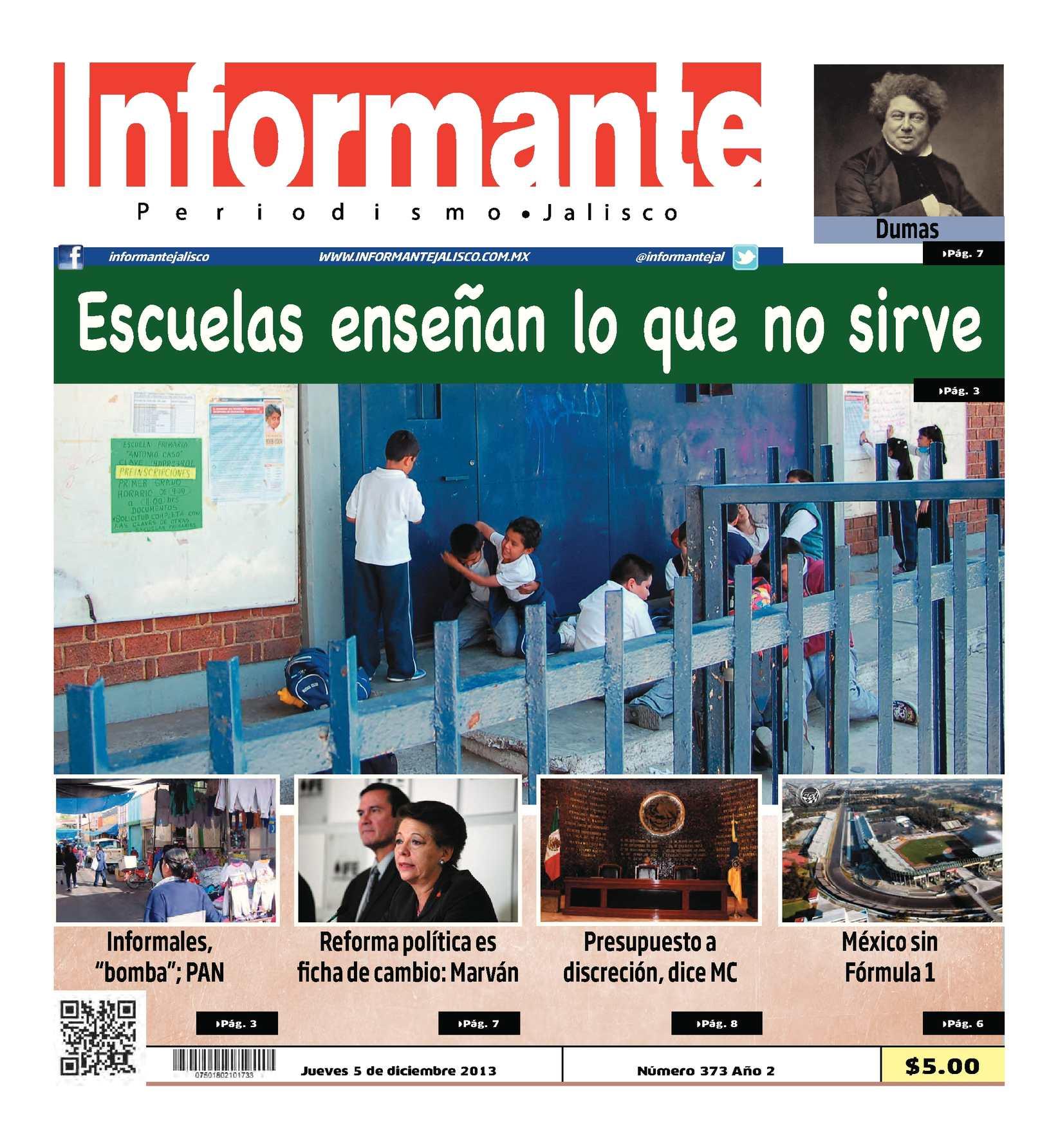Calaméo Informante Jalisco 5 De Diciembre 2013