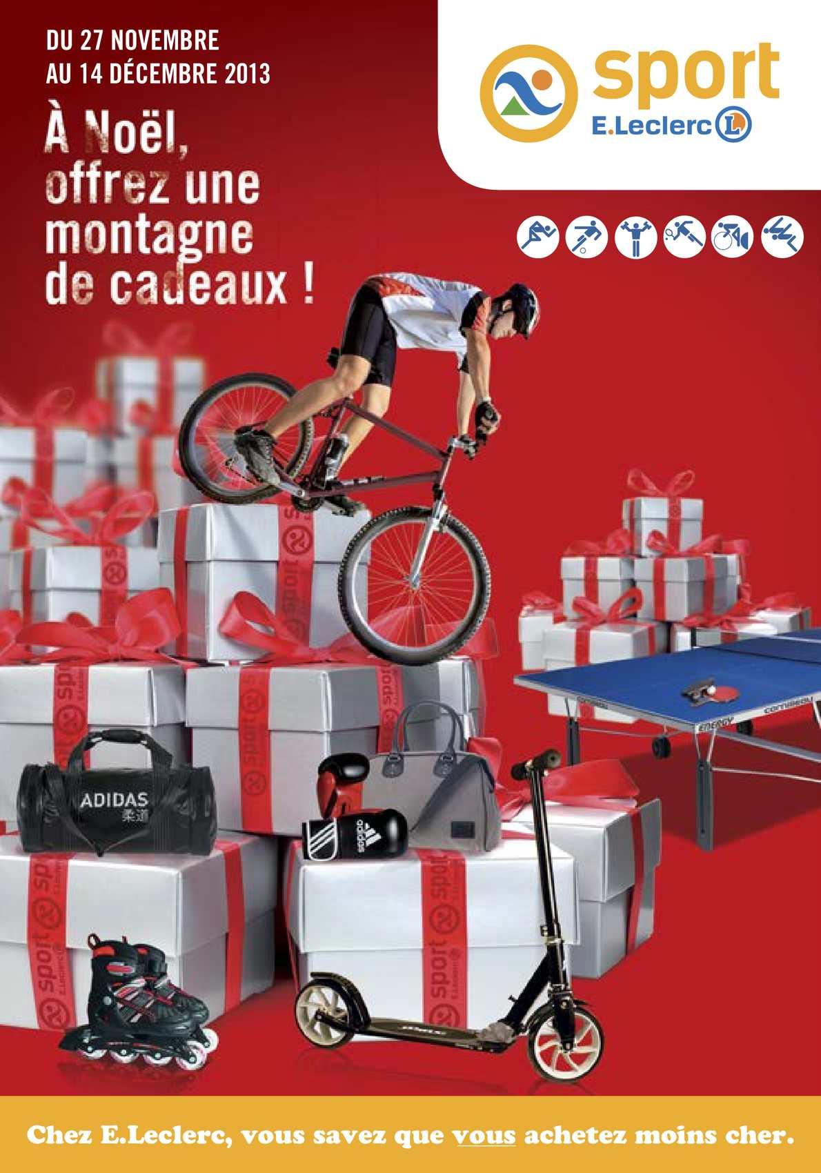 Noel Catalogue Sport Calaméo 2013 Leclerc OkX80wPNnZ
