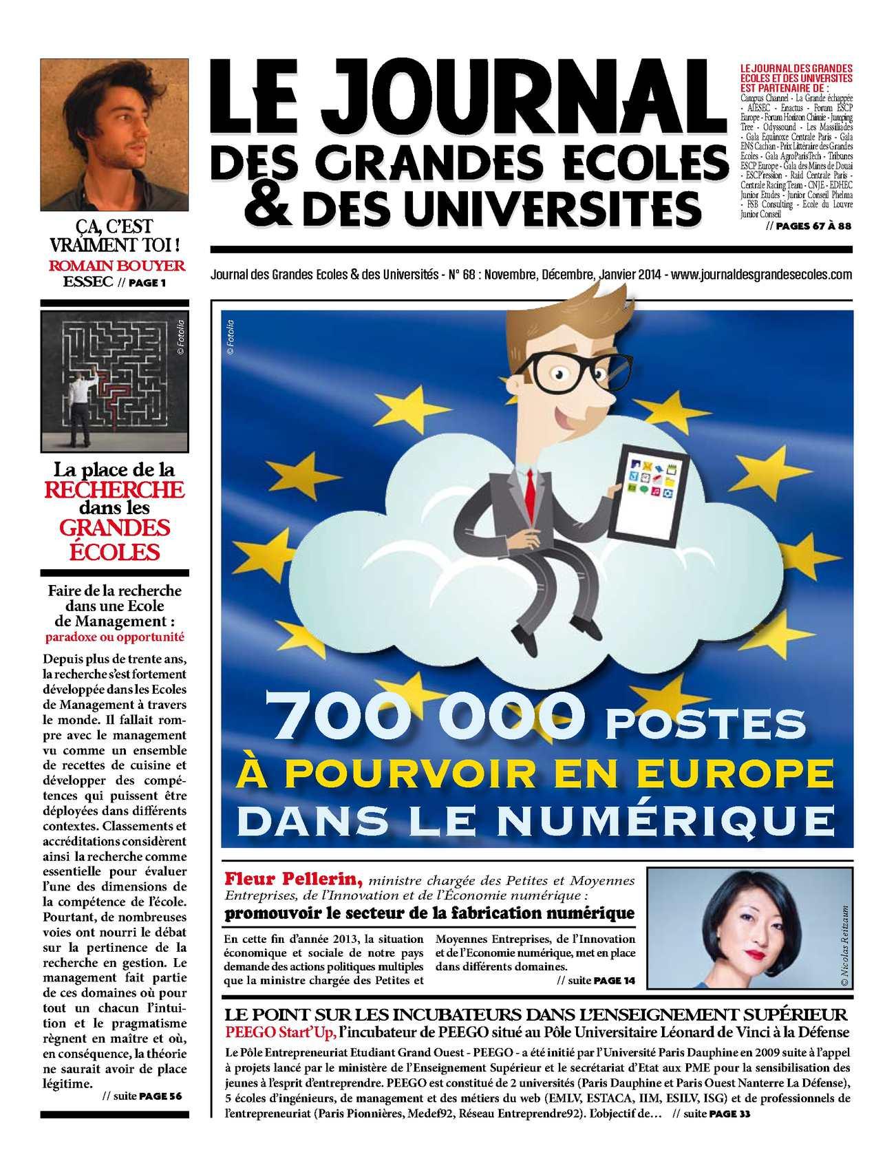 Calaméo - Le Journal des Grandes Ecoles - N°68 - Novembre, Décembre,  Janvier 2014 1cbd41785c