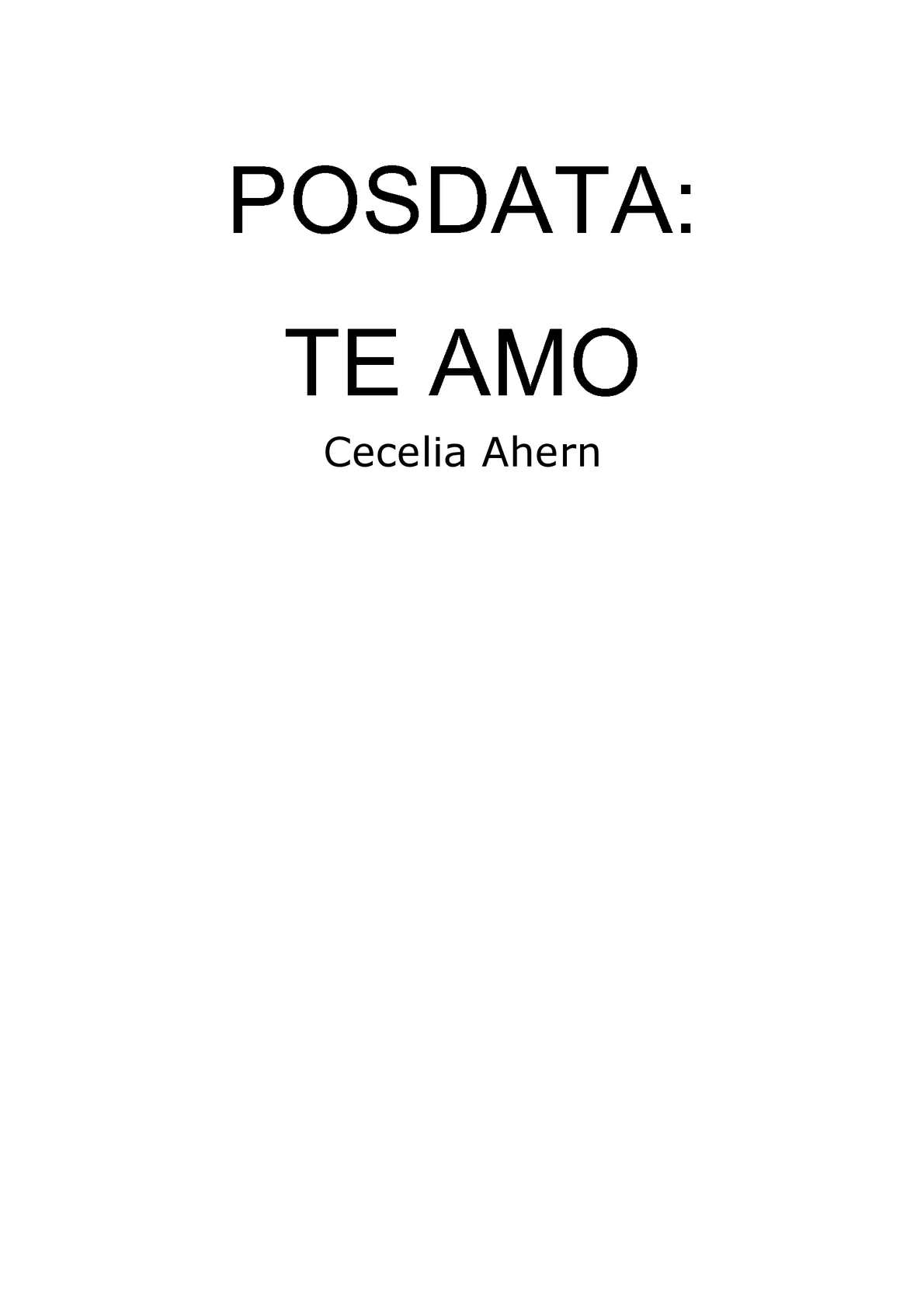 Calaméo Posdata Te Amo