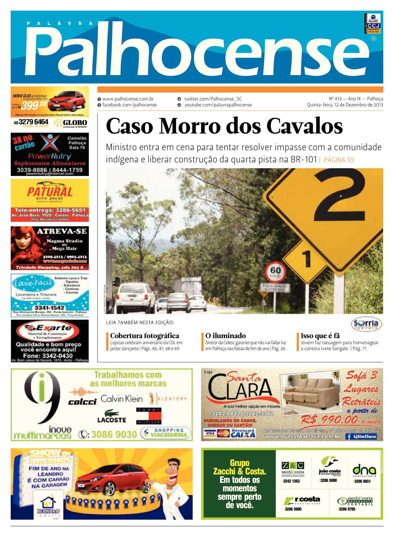 28e94fa06 Calaméo - Jornal Palavra Palhocense - Edição 413
