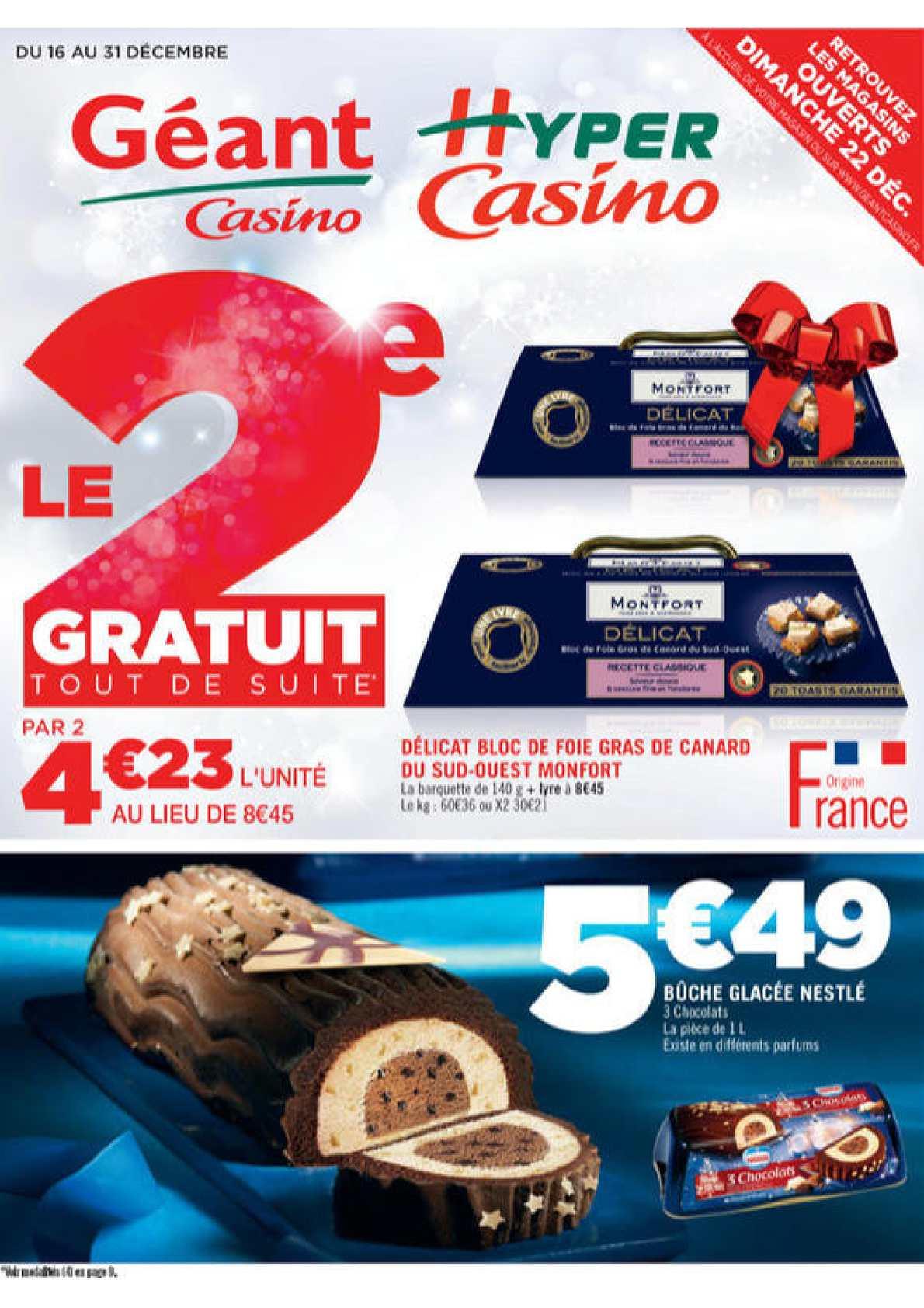 Geant casino briancon catalogue