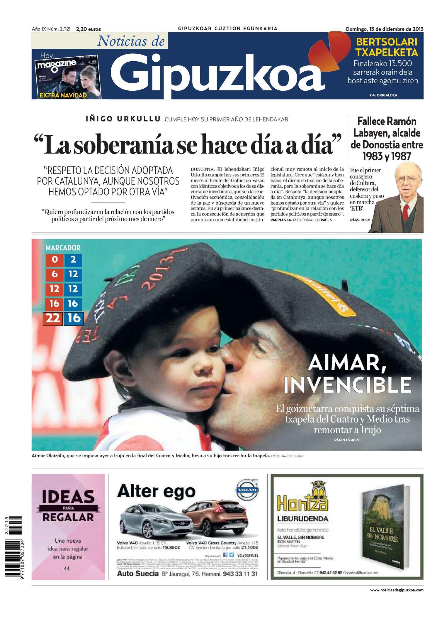 b41e2f1507e8d Calaméo - Noticias de Gipuzkoa 20131215