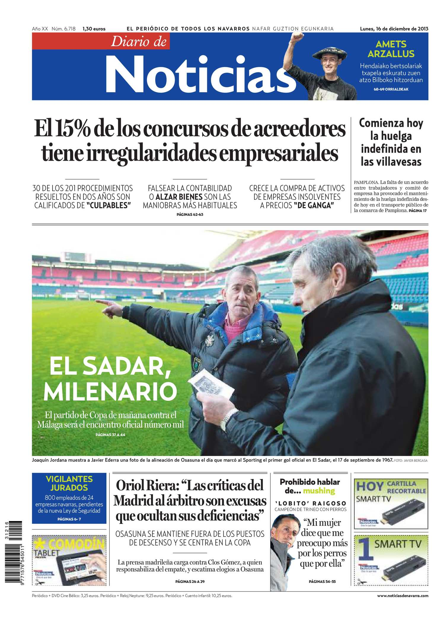 9ab610ca Calaméo - Diario de Noticias 20131216