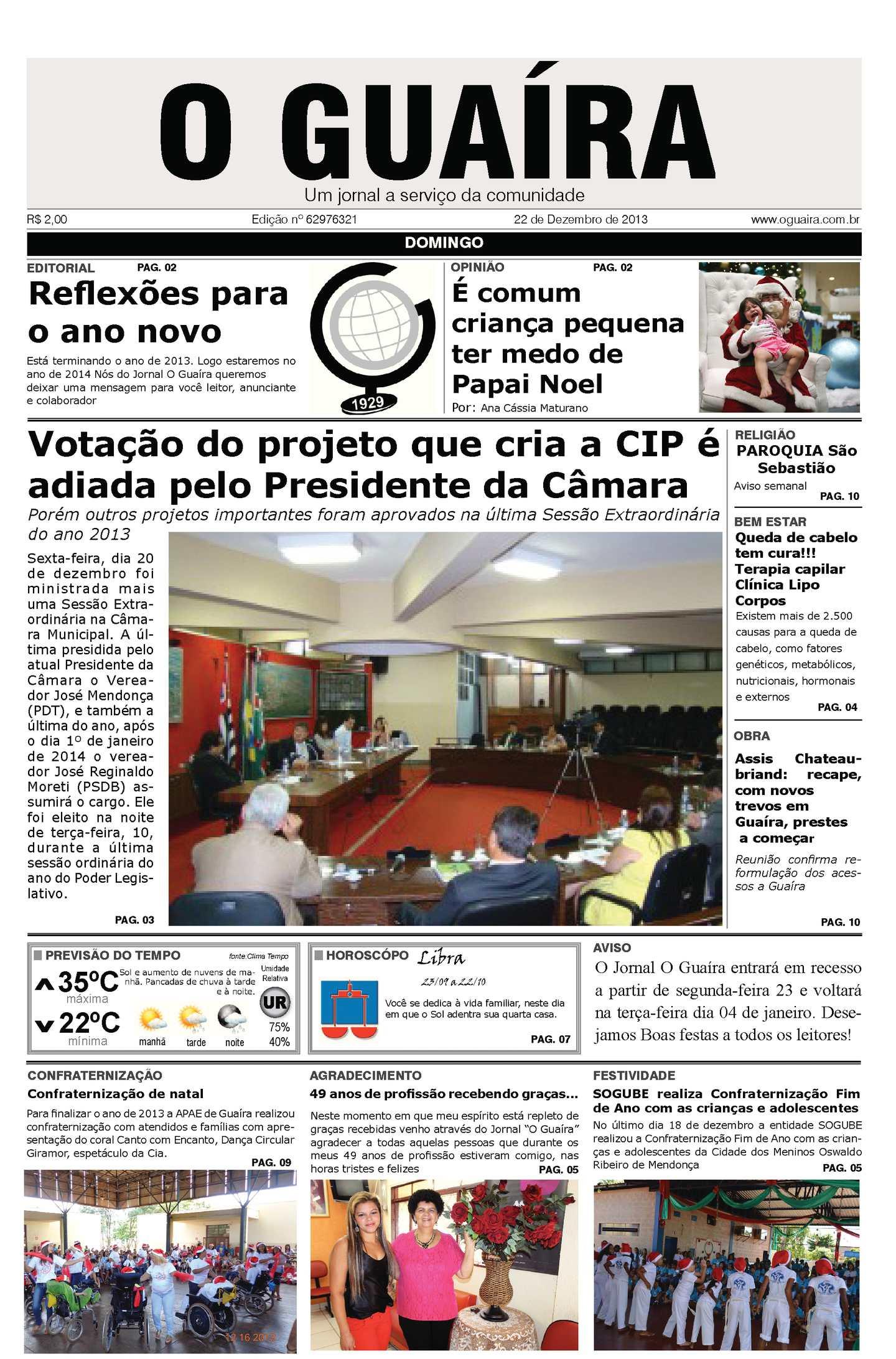 Calaméo - Jornal O Guaíra de 22 de dezembro de 2013 e2ed0c305f