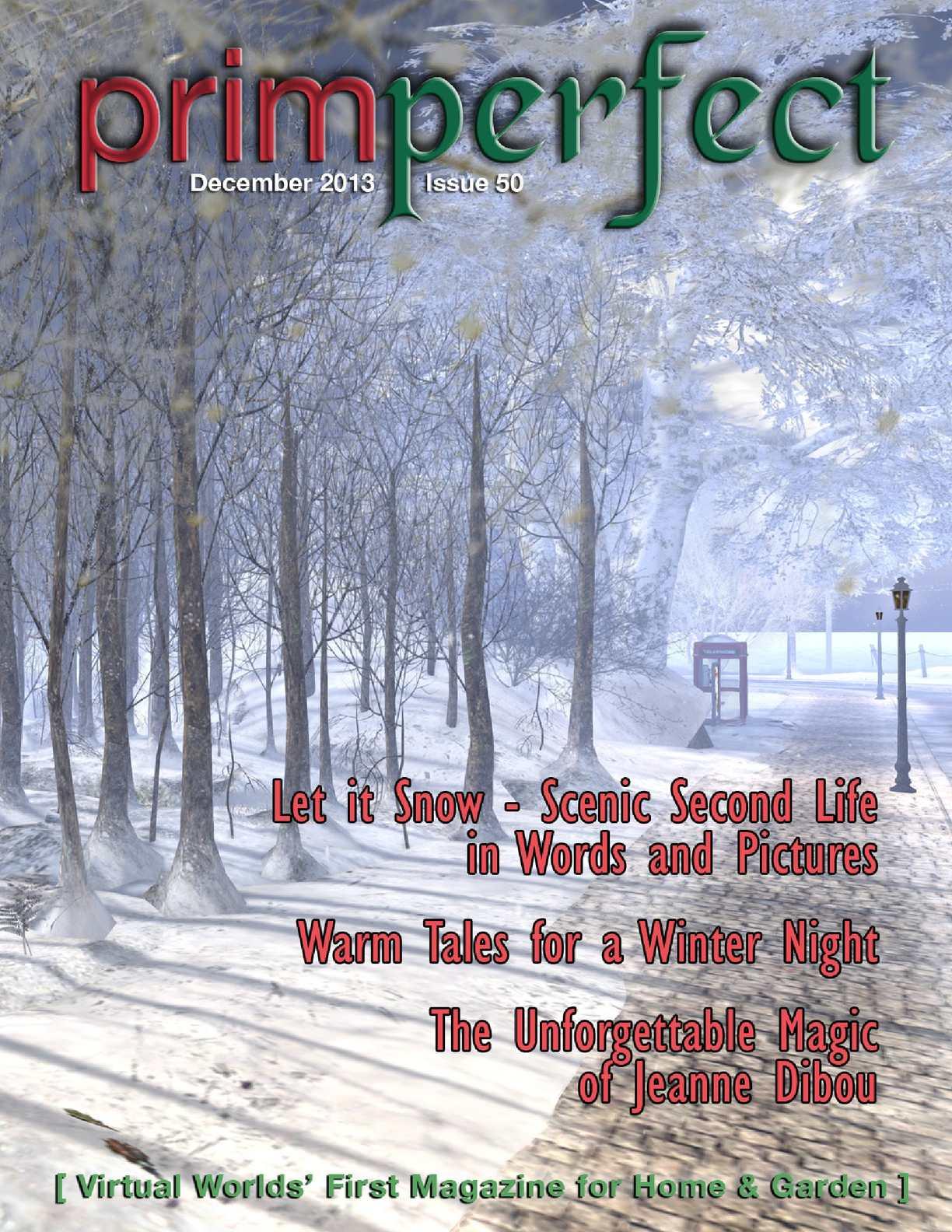 Calaméo Prim Perfect Issue 50 December 2013