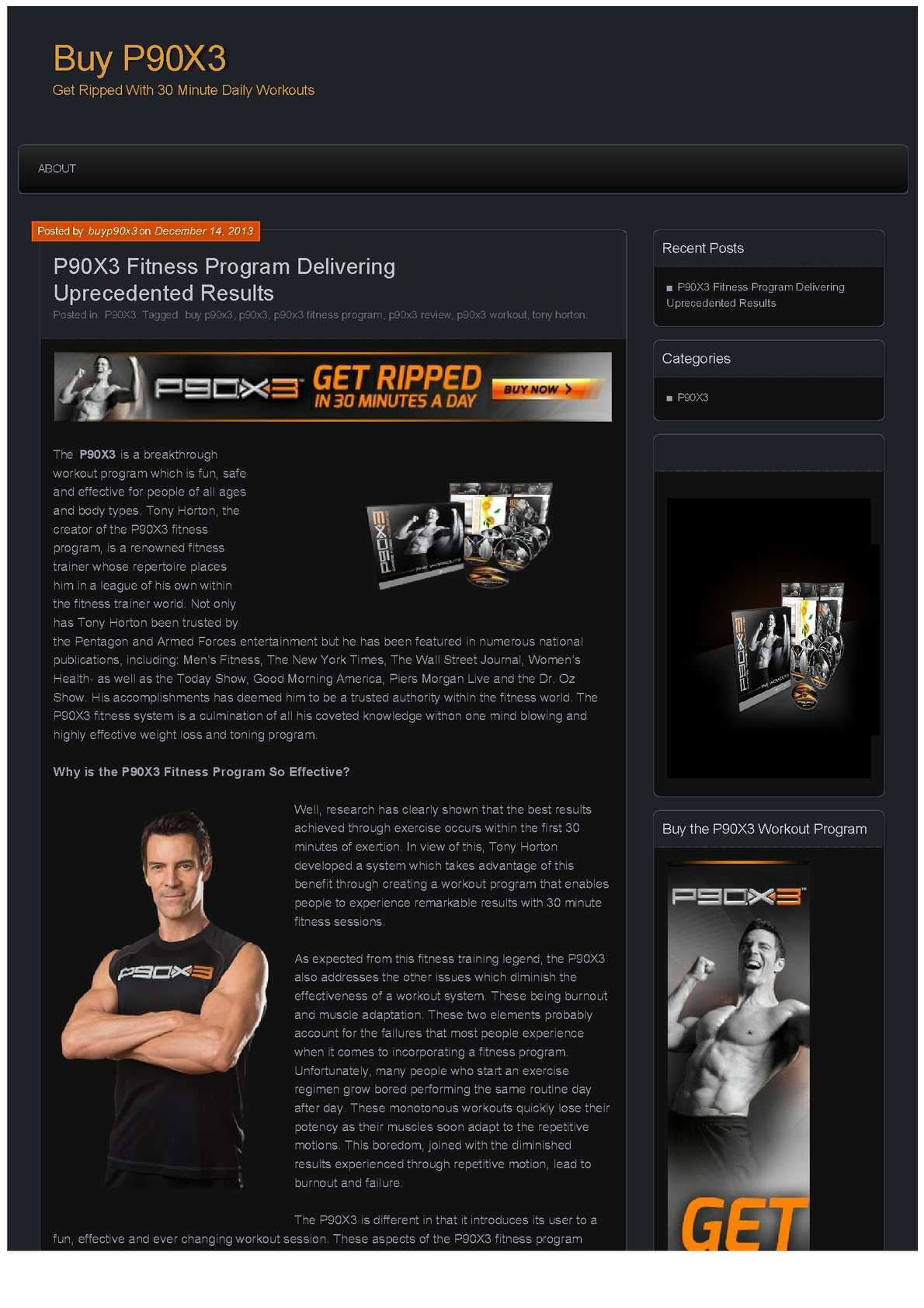 Calaméo - Buy the P90X3 Fitness System Online