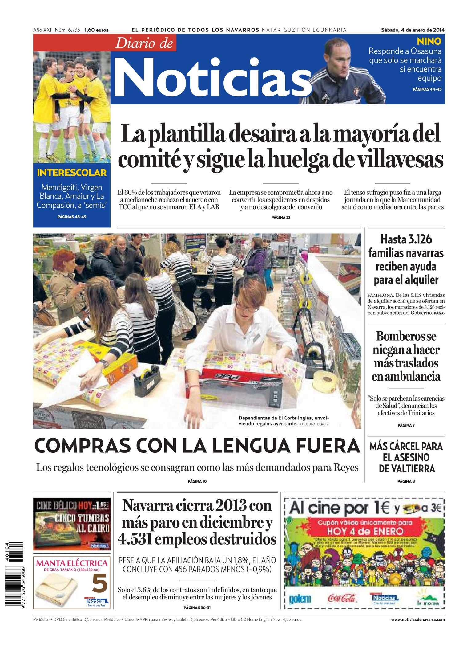Calaméo Diario de Noticias 20140104