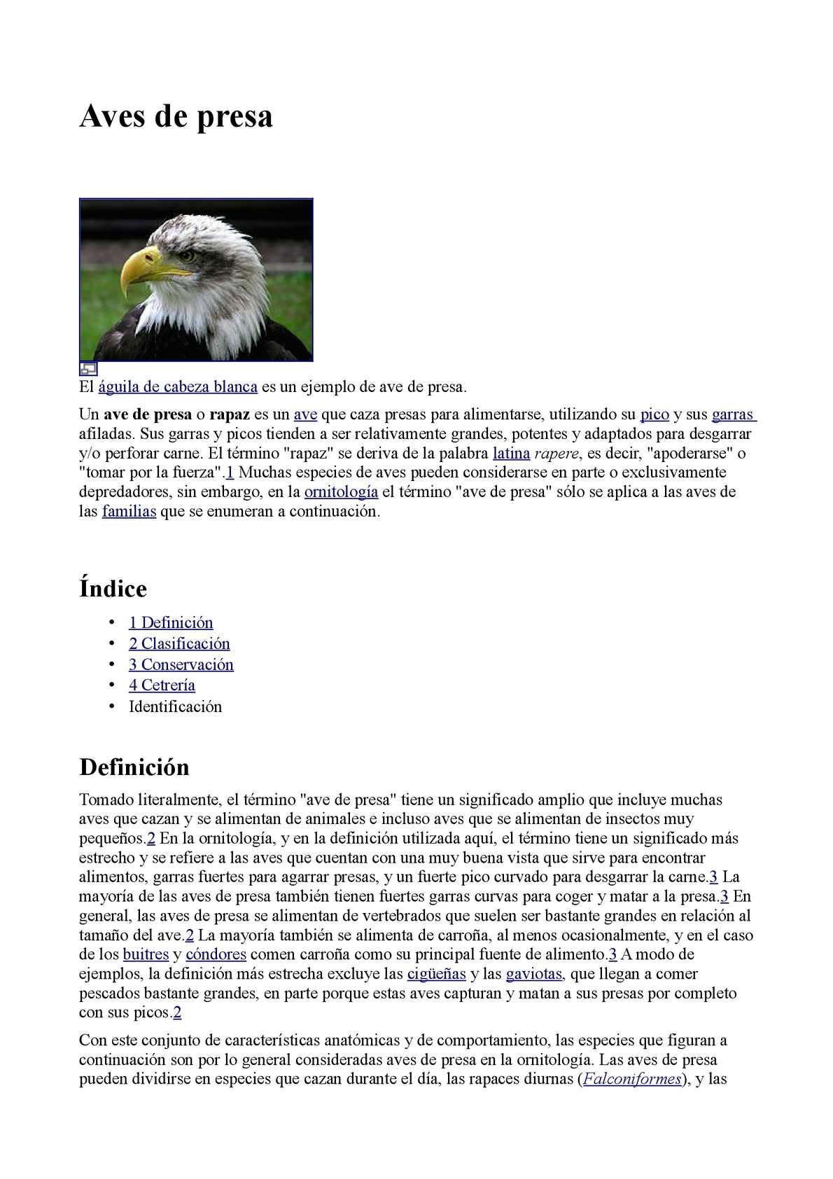 Calaméo Aves Rapaces