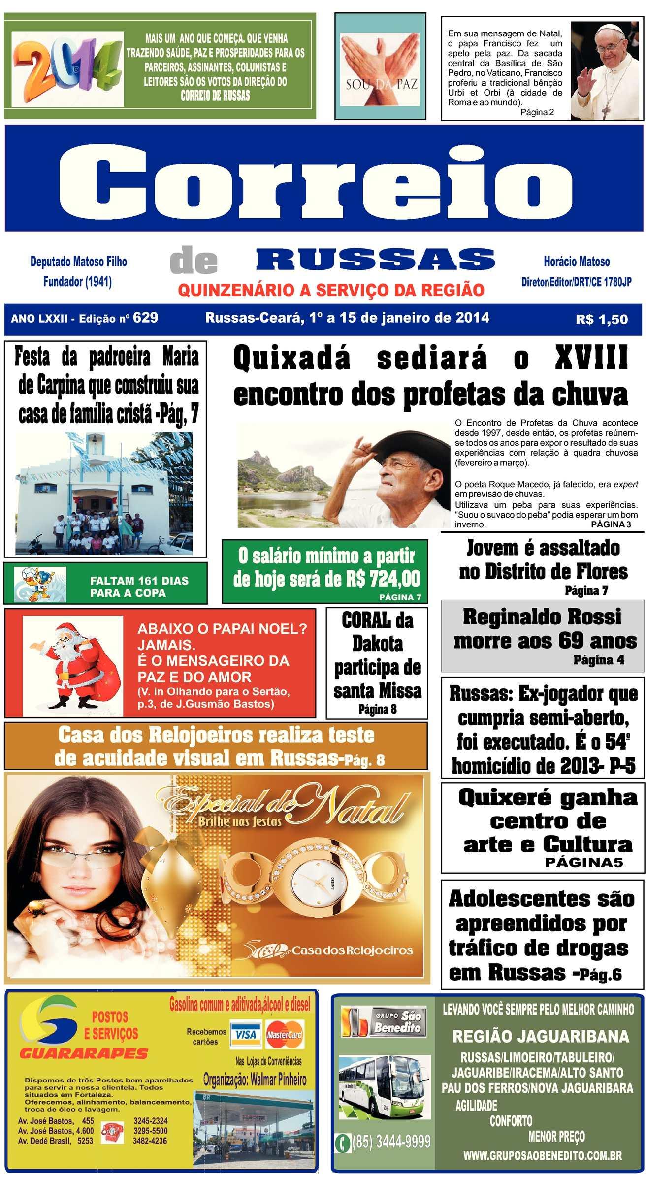 a6380adfa Calaméo - JORNAL CORREIO DE RUSSAS
