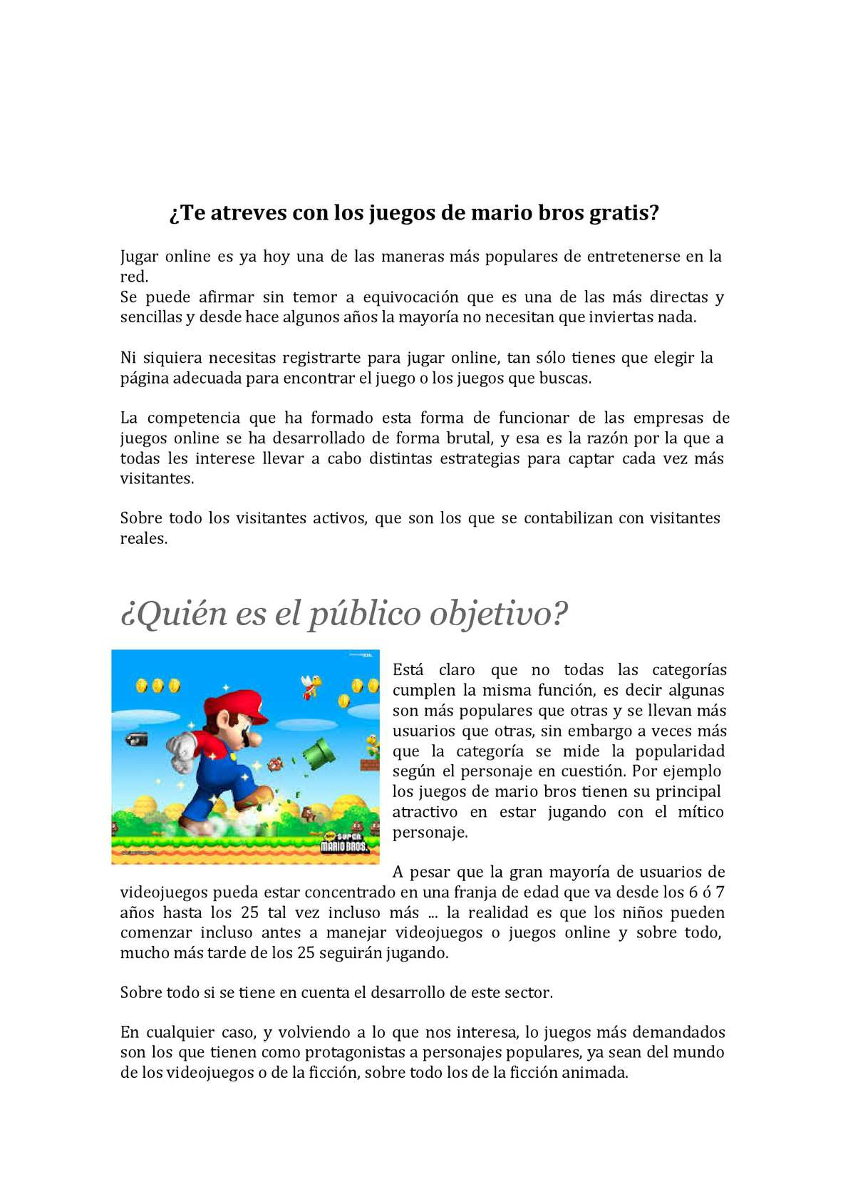 Calameo Te Atreves Con Los Juegos De Mario Bros Gratis