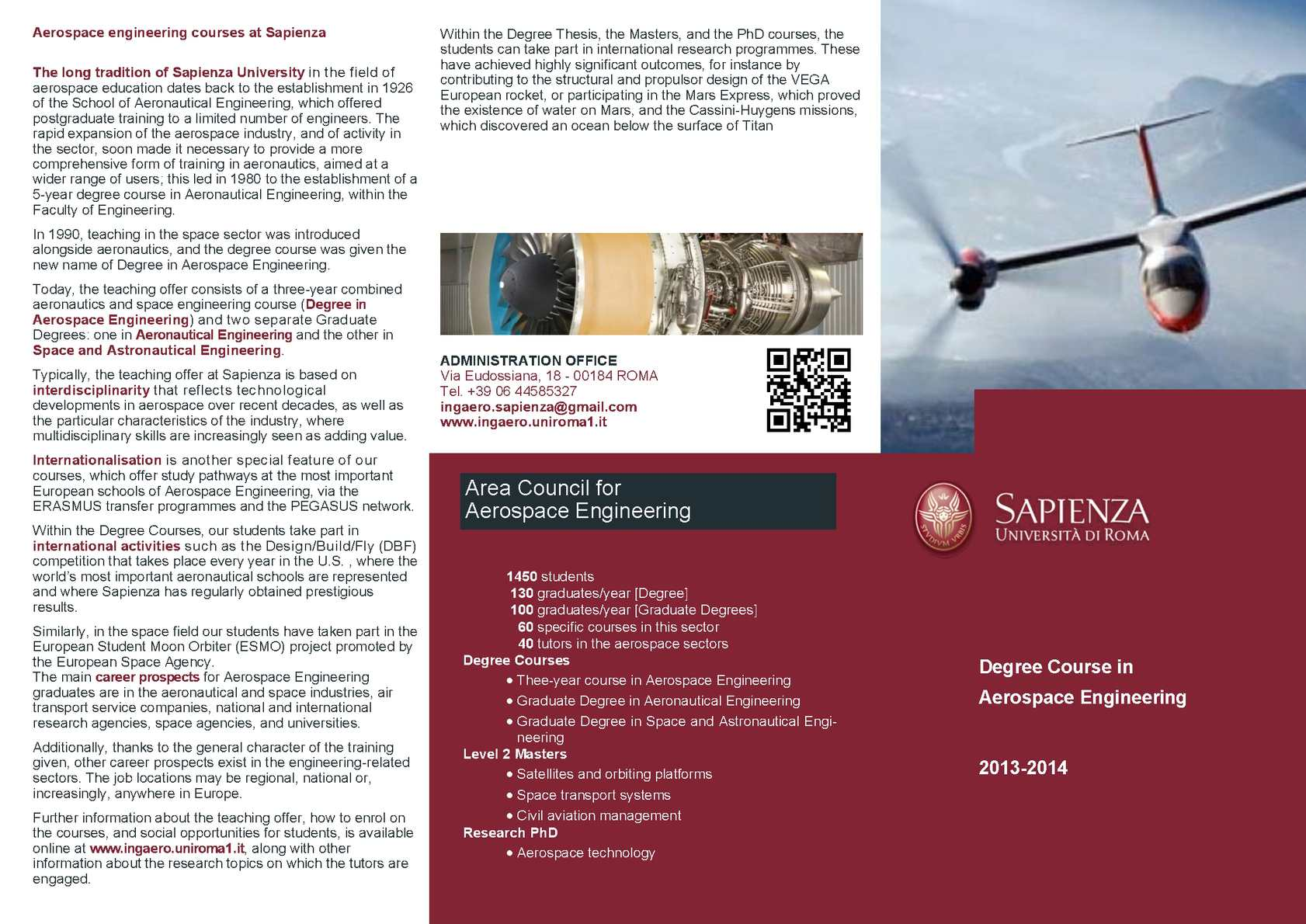 Calaméo - Degree Course in Aerospace Engineering