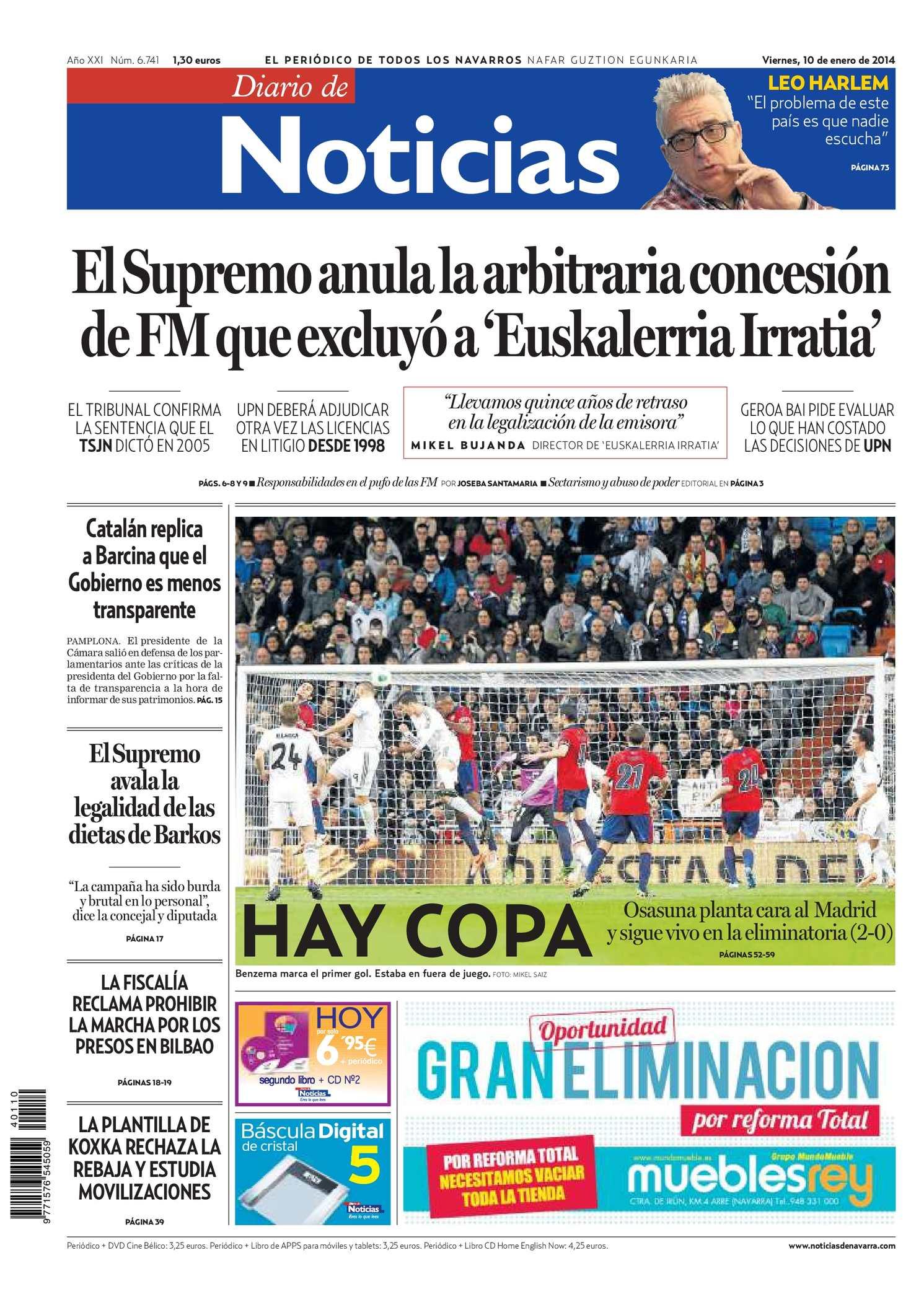 Calaméo - Diario de Noticias 20140110 593c262c10620