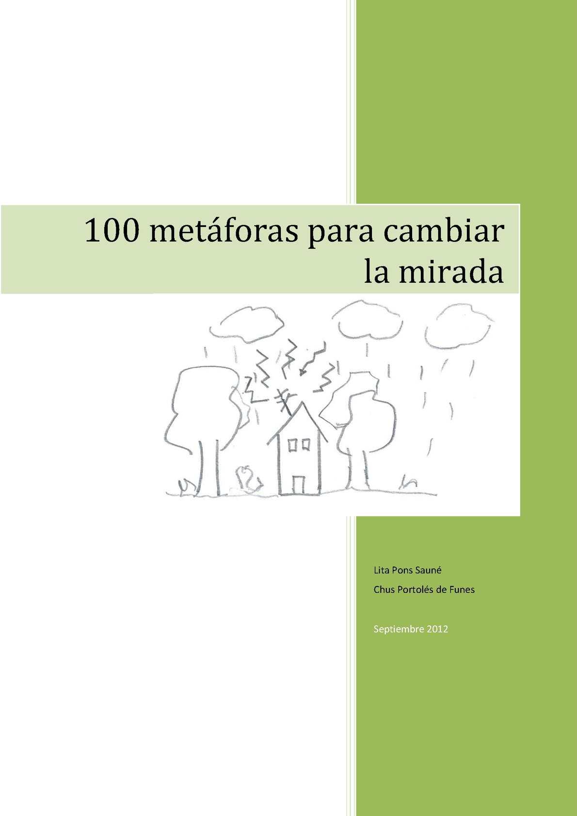 Calaméo 100 Metáforas Para La Cambiar Mirada kiPuOZX