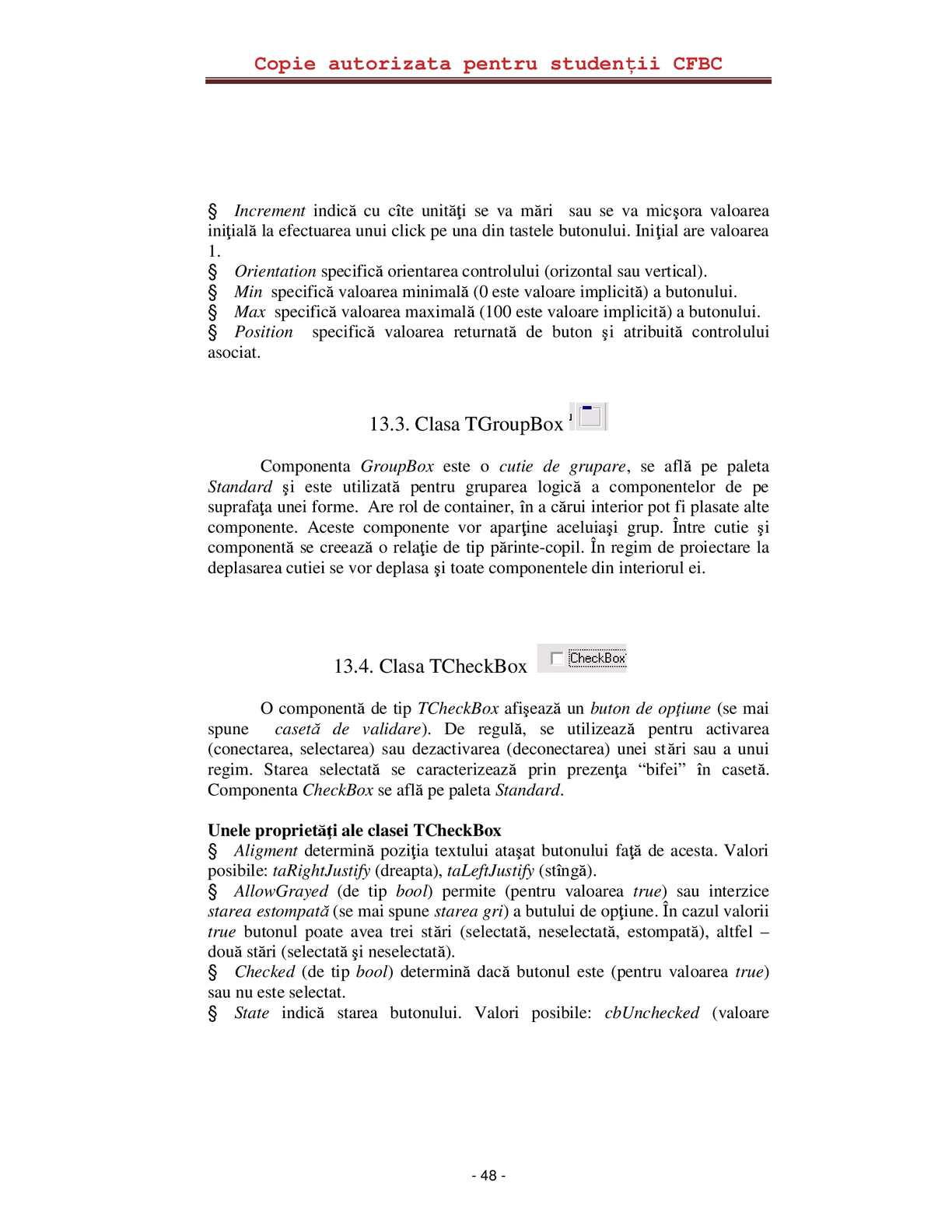 formular de document de opțiune