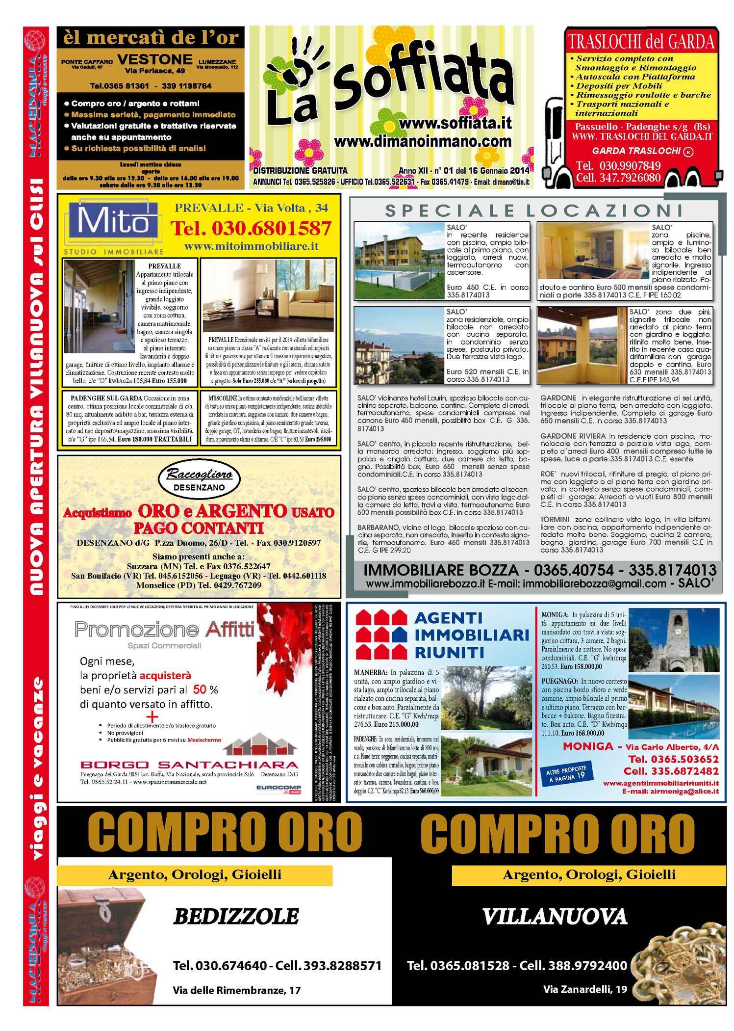 Raffa La Dondolo Giraffa.Calameo La Soffiata 16 01 2014
