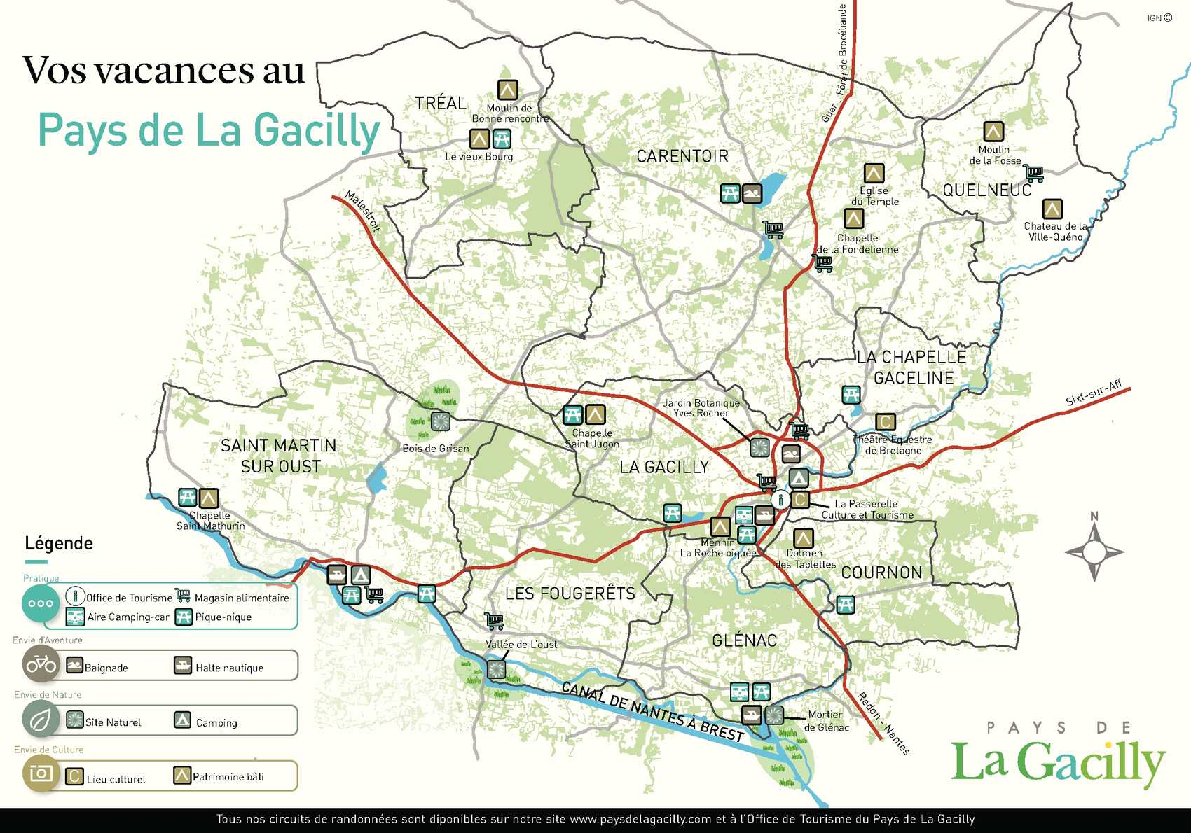 Carte Bretagne La Gacilly.Calameo Carte Du Pays De La Gacilly
